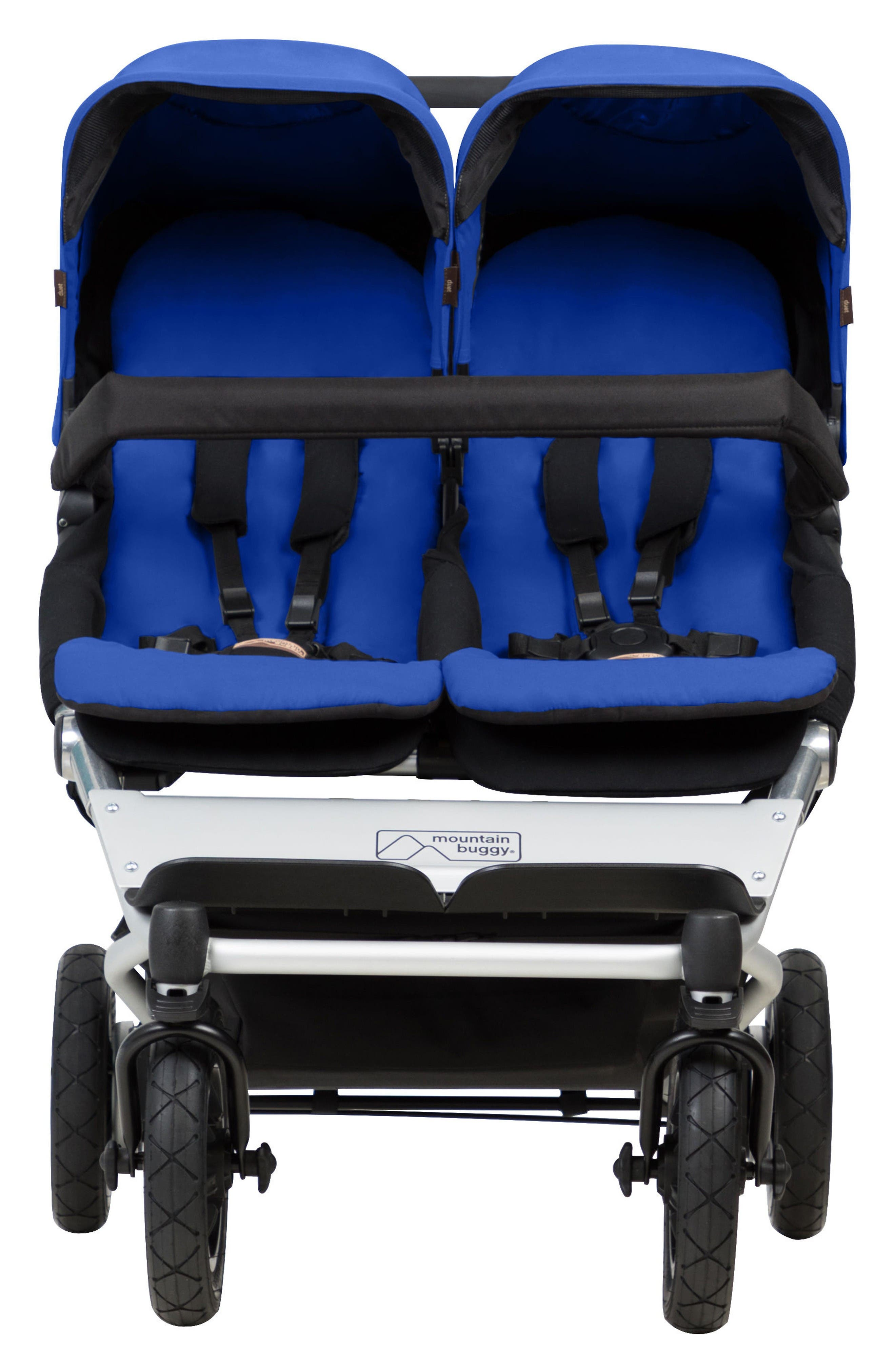 2017 Duet Compact Side by Side Double Stroller,                             Main thumbnail 1, color,                             Marine