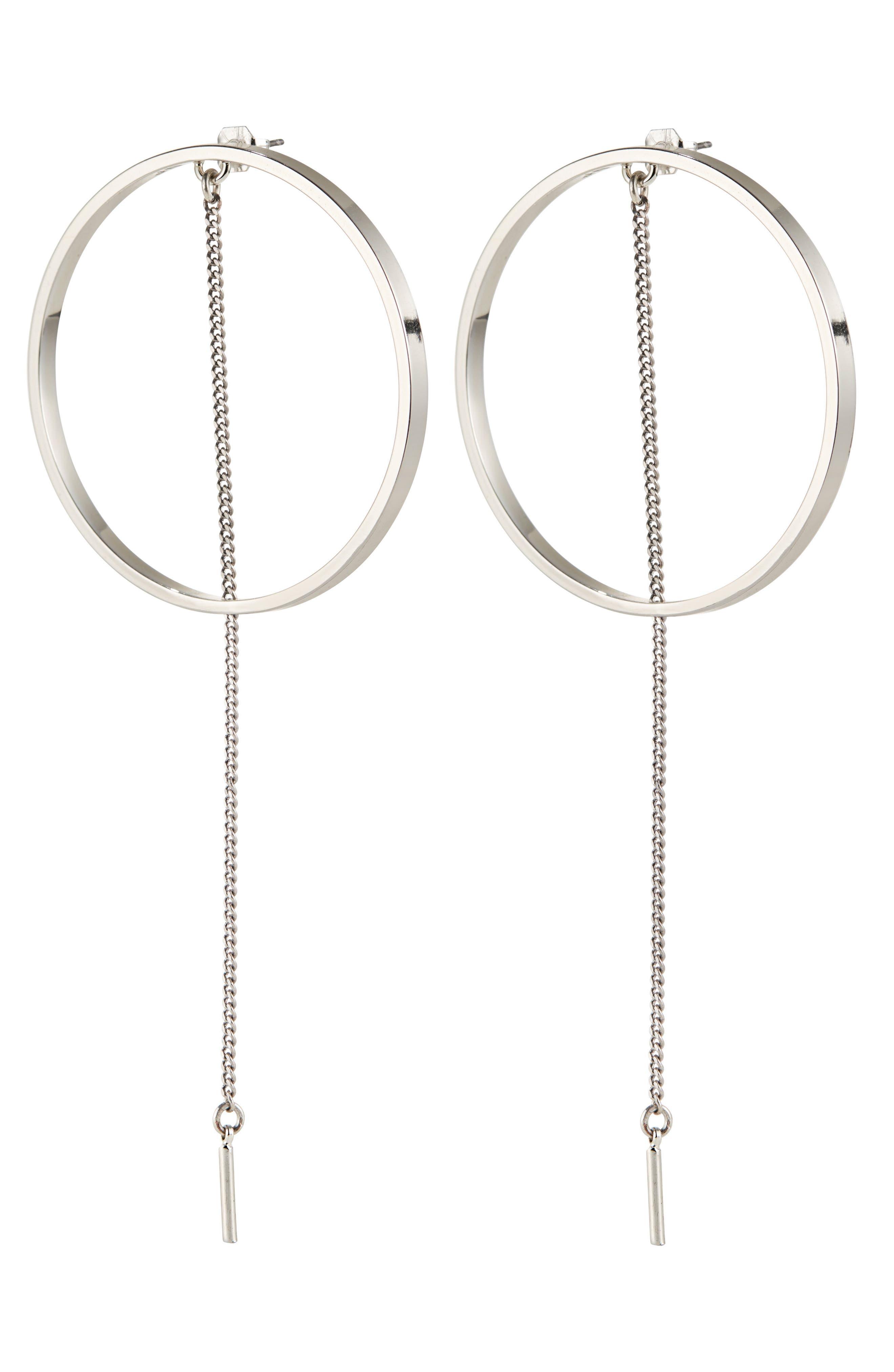 Main Image - Jenny Bird Rhine Frontal Hoop Earrings