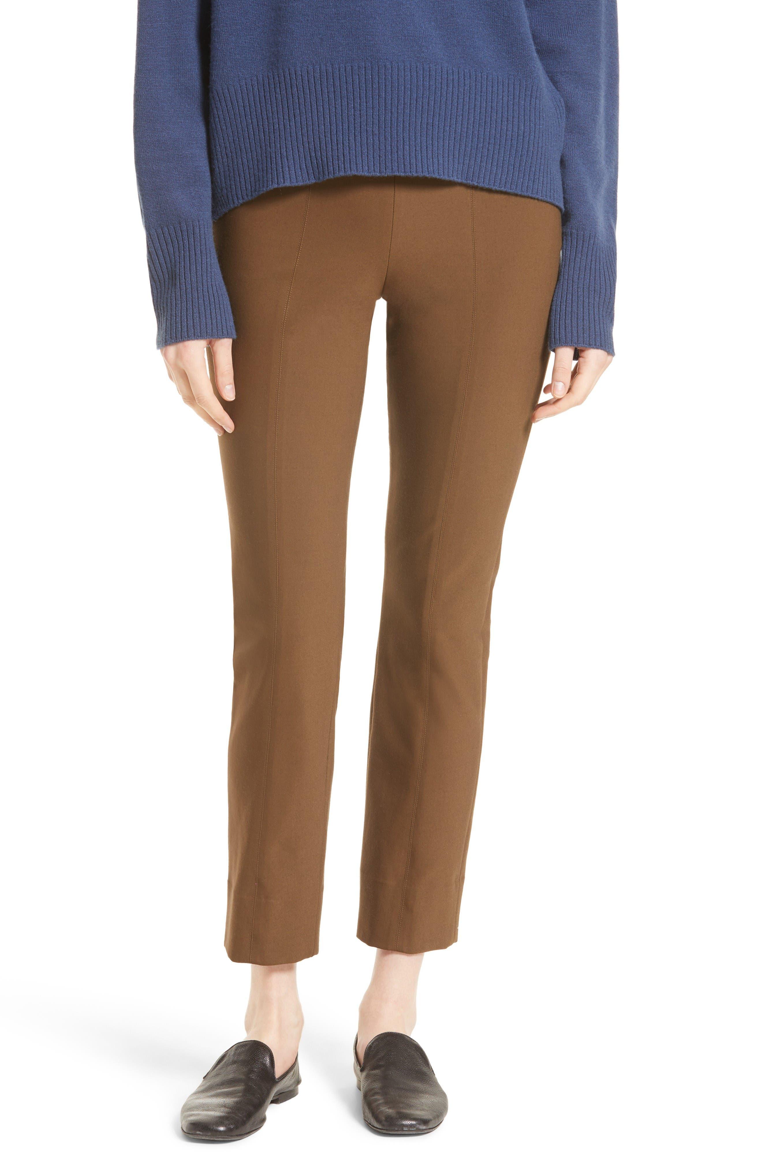 Alternate Image 1 Selected - Vince Seamed Leg Skinny Pants