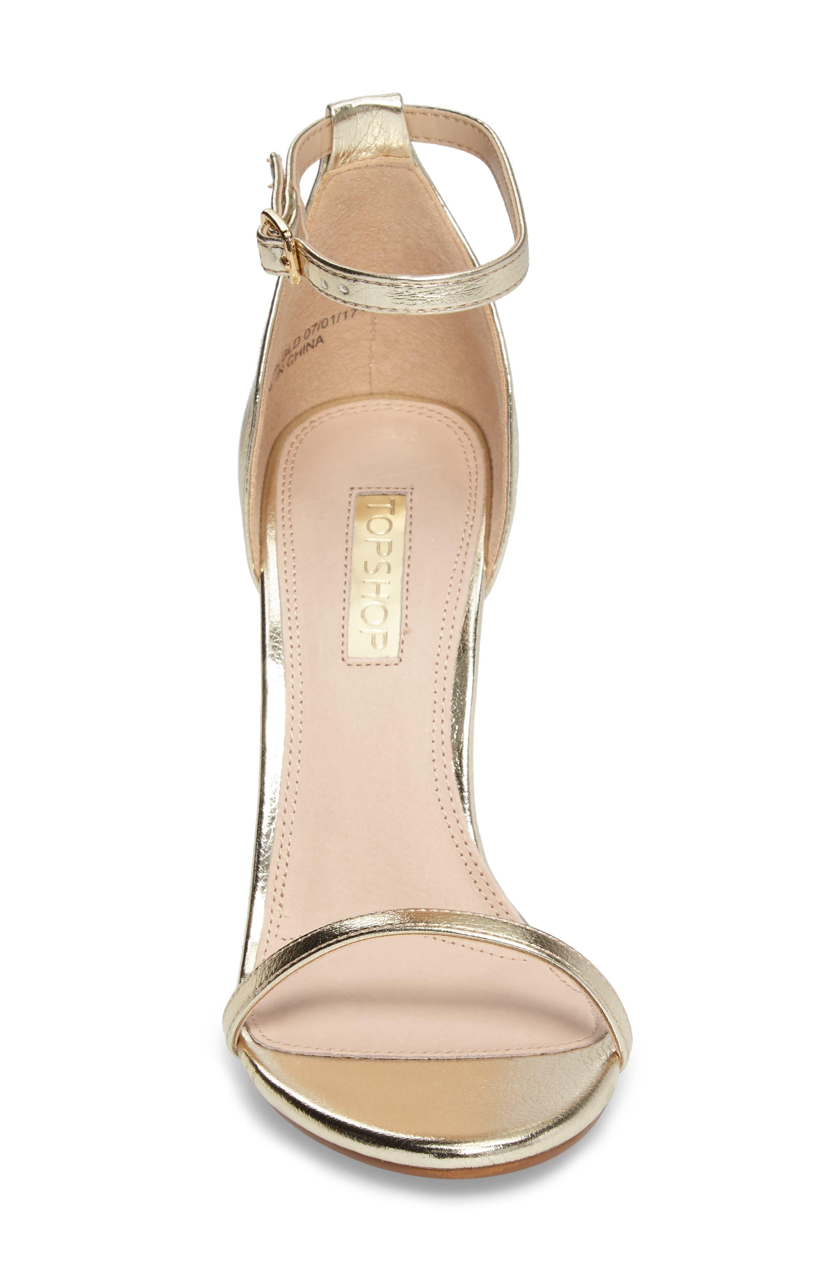 Alternate Image 4  - Topshop Rosalie Ankle Strap Sandal (Women)