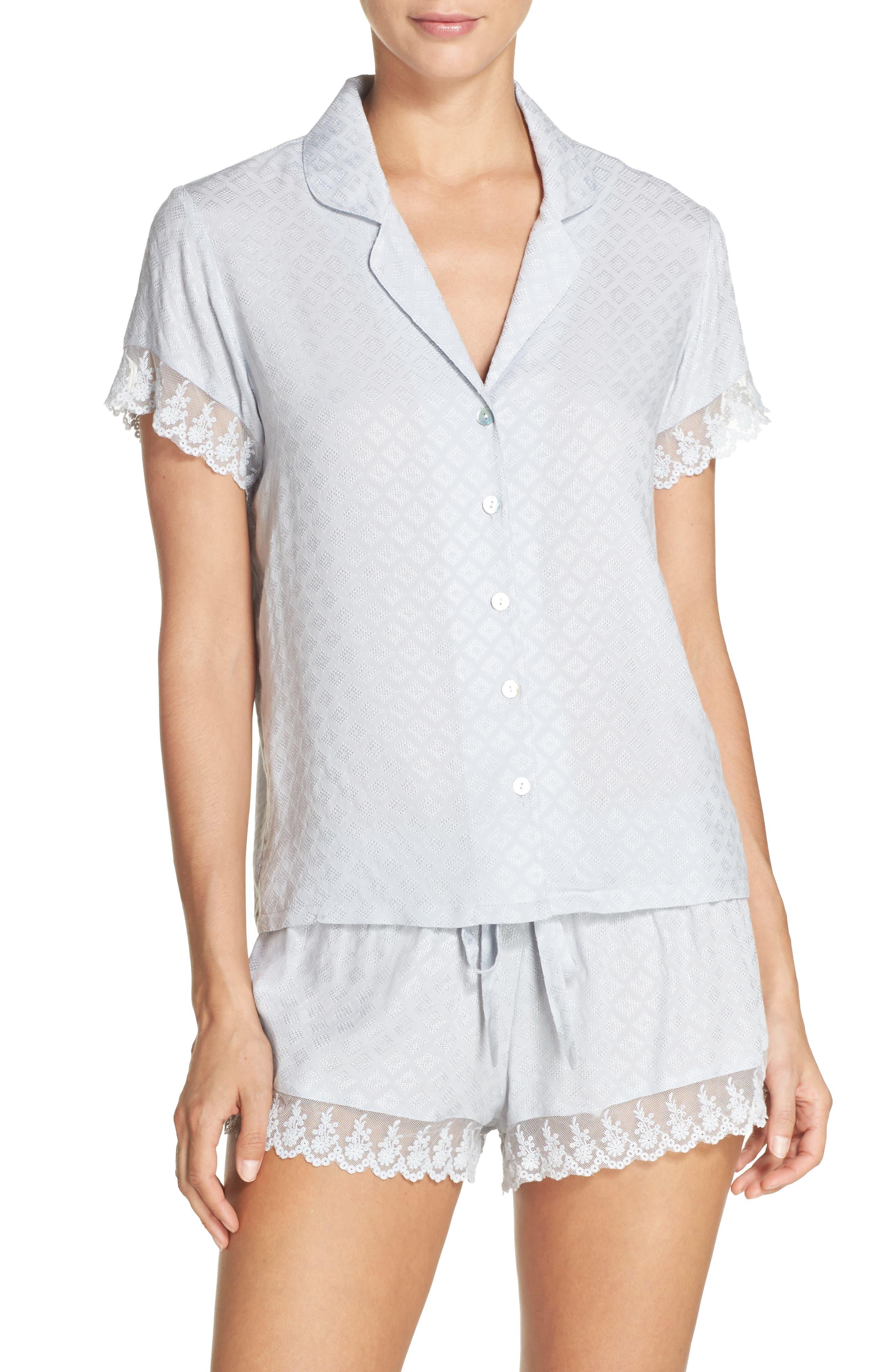 Alternate Image 1 Selected - Flora Nikrooz Laurel Short Pajamas
