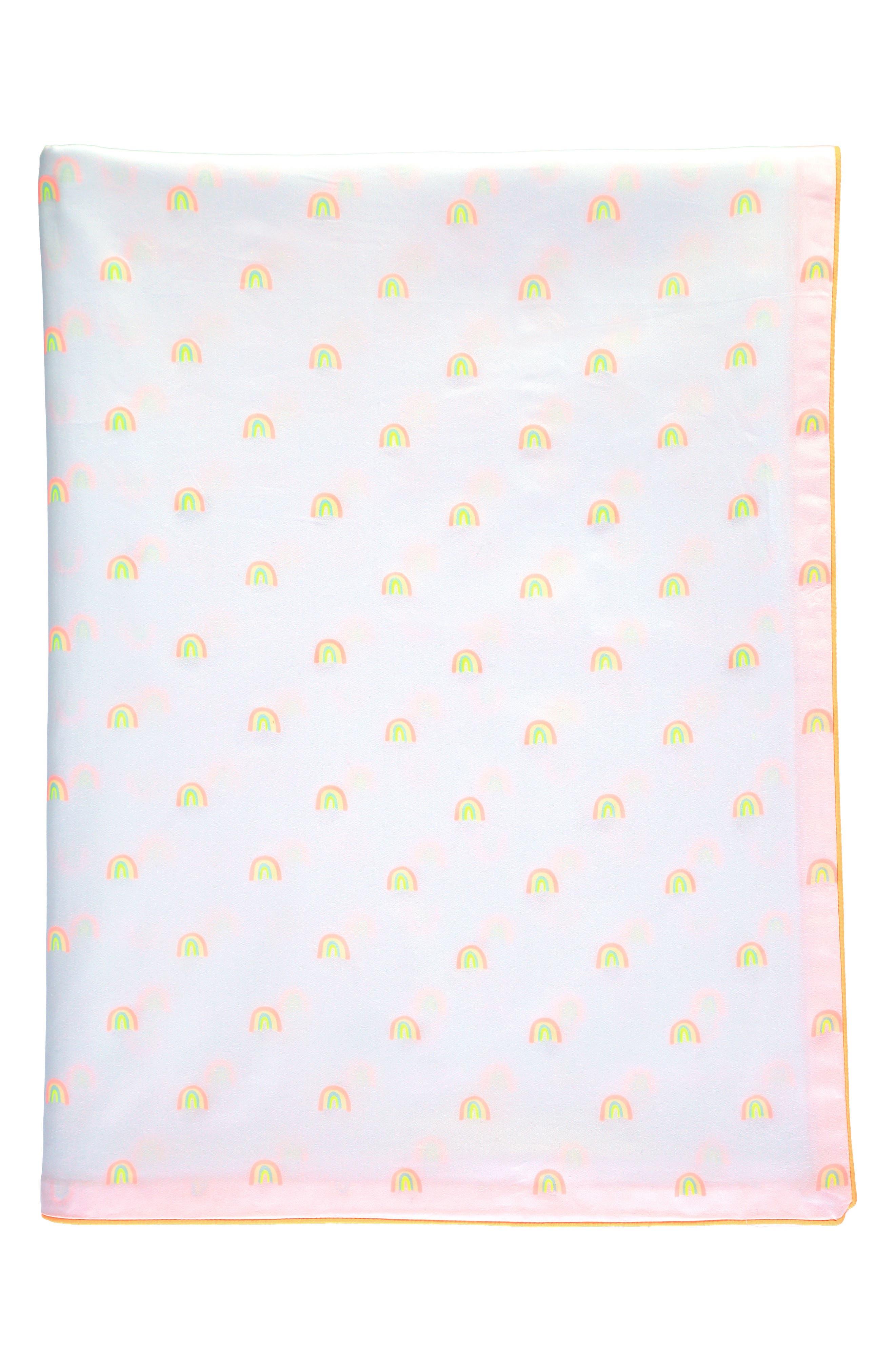 Alternate Image 1 Selected - Meri Meri Rainbow Organic Cotton Twin Duvet Cover