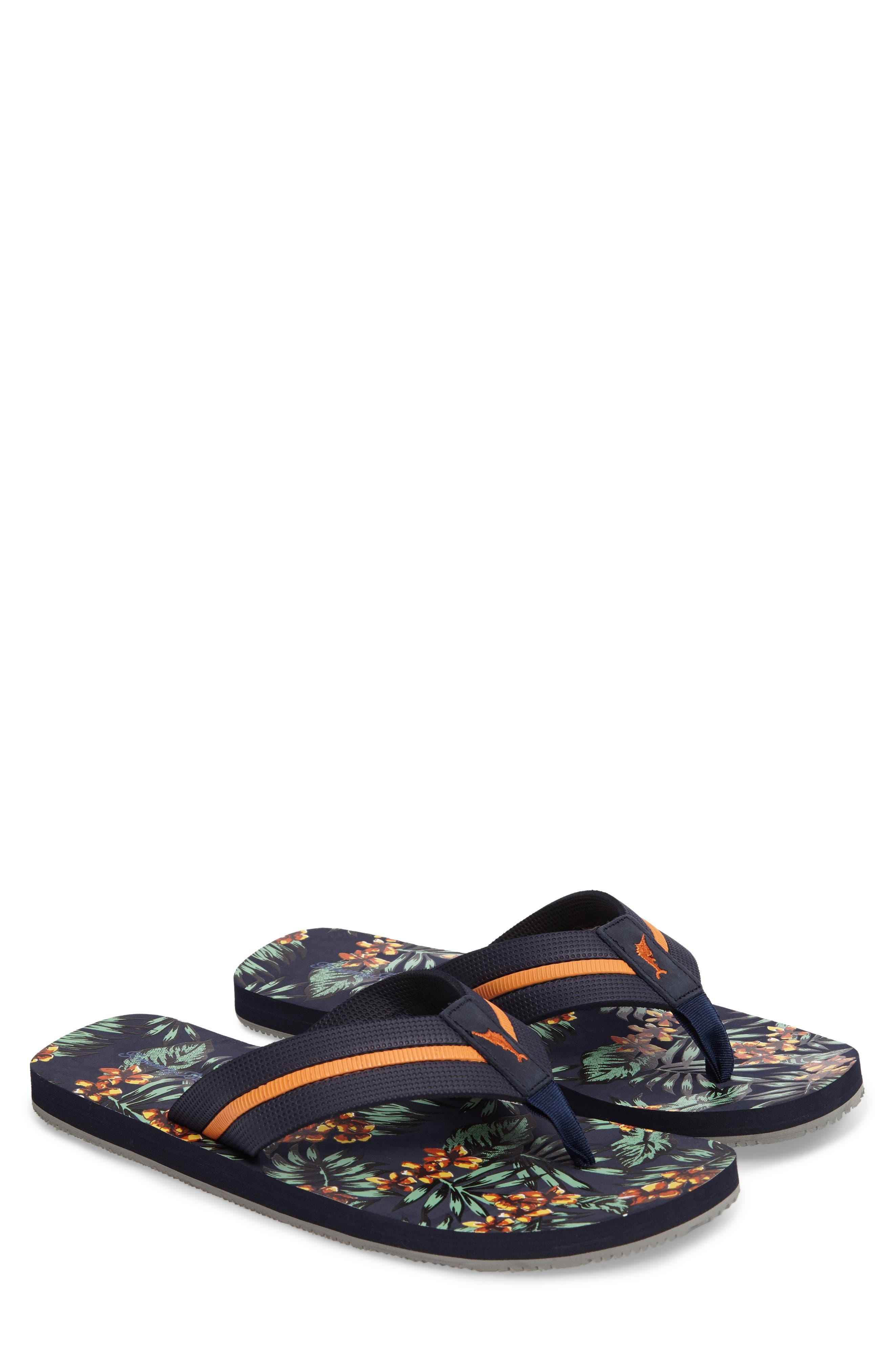 Taheeti Flip Flop,                         Main,                         color, Ocean Deep
