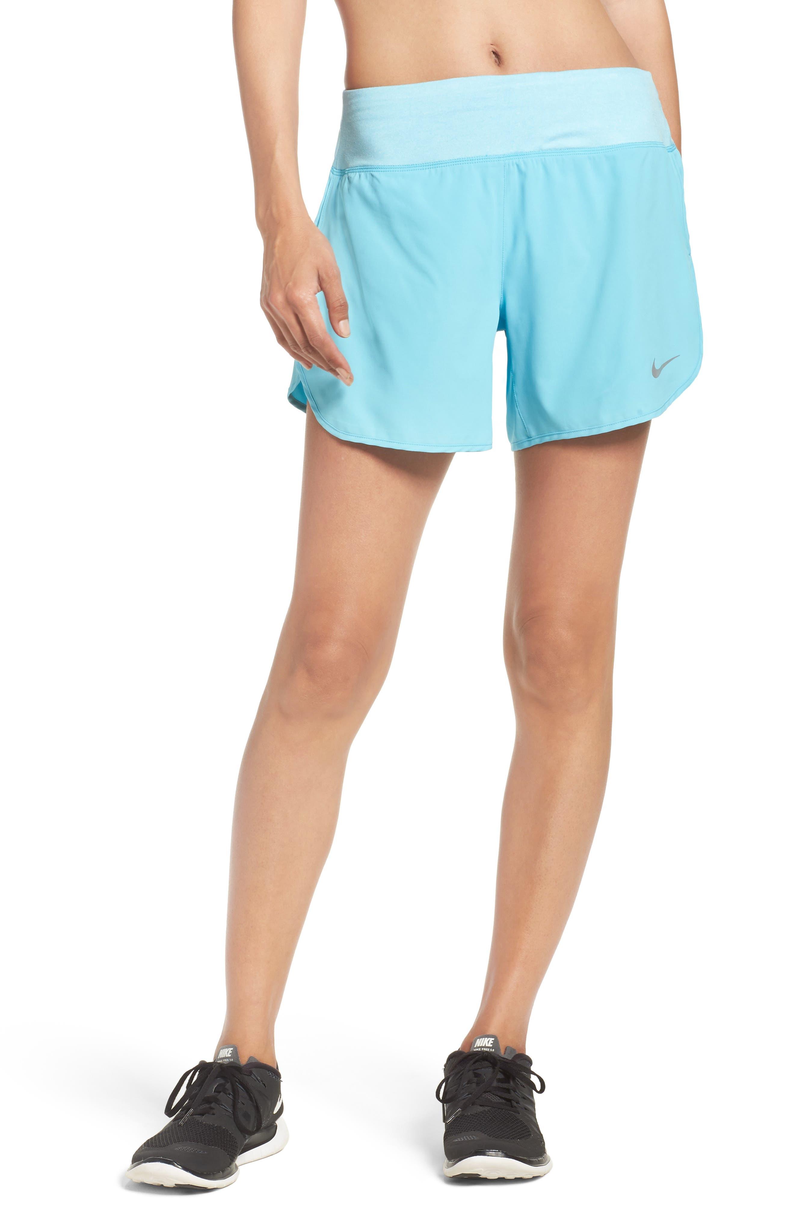 Flex Running Shorts,                         Main,                         color, Vivid Sky