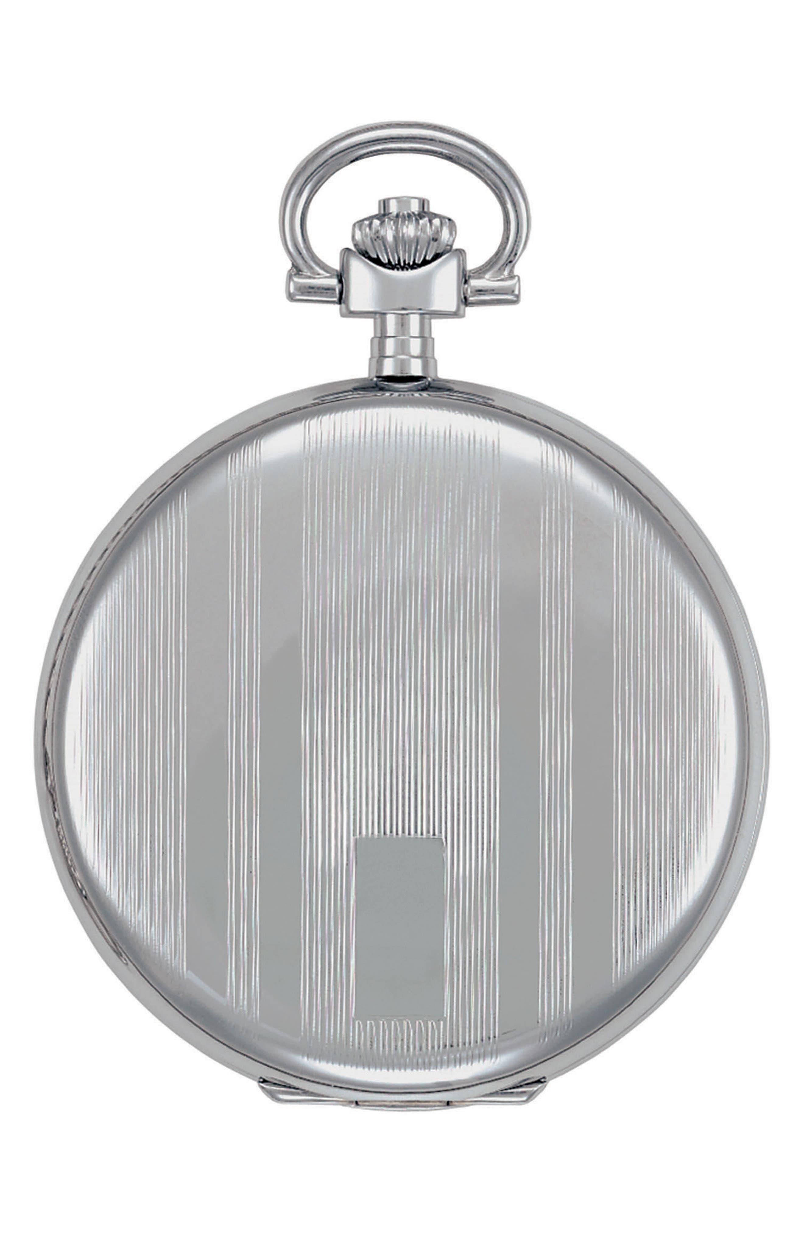 Alternate Image 2  - Tissot Savonnette Pocket Watch, 48mm
