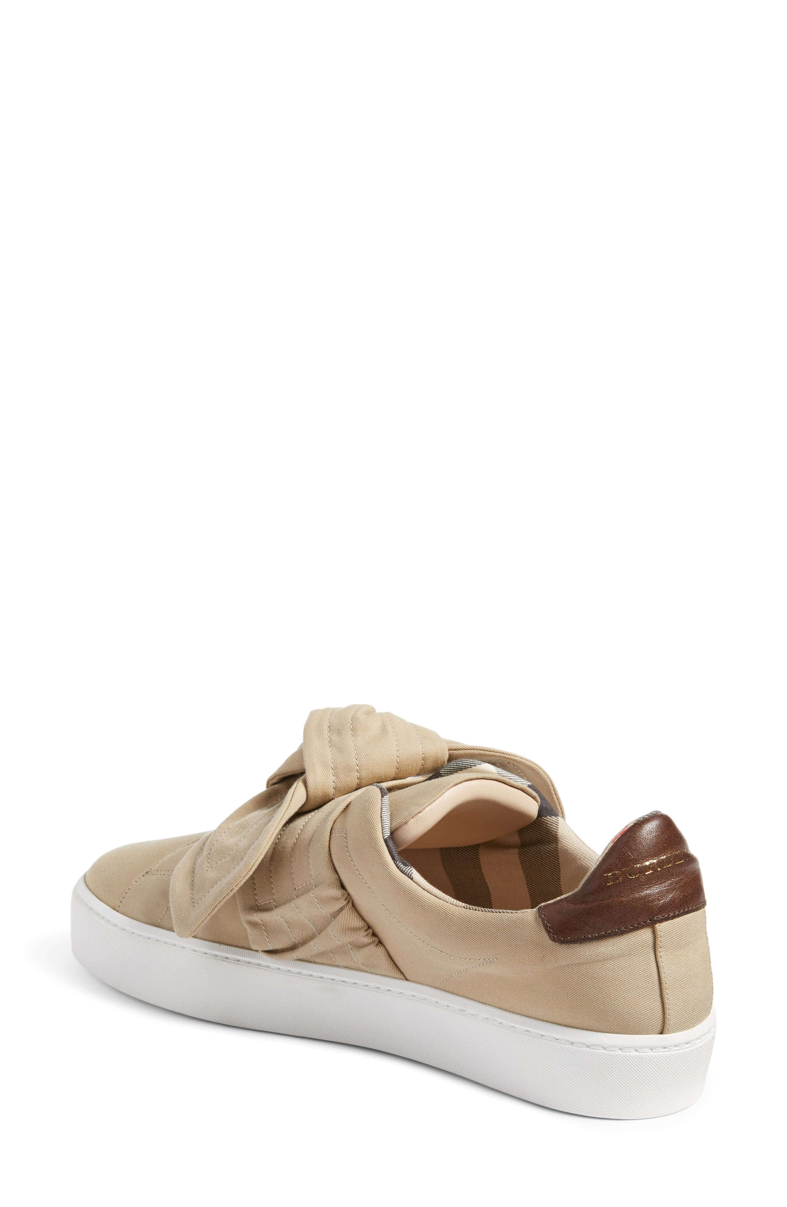 Alternate Image 2  - Burberry Knot Sneaker (Women)