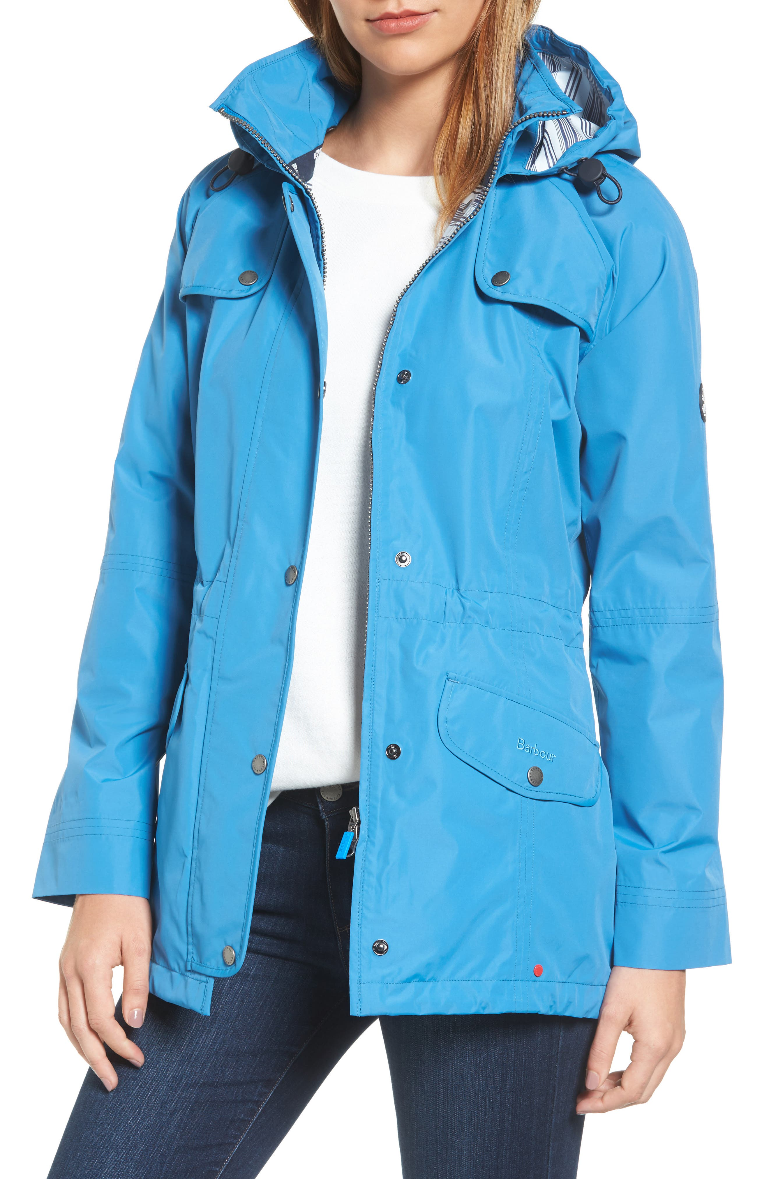 Barbour Trevose Waterproof Hooded Jacket
