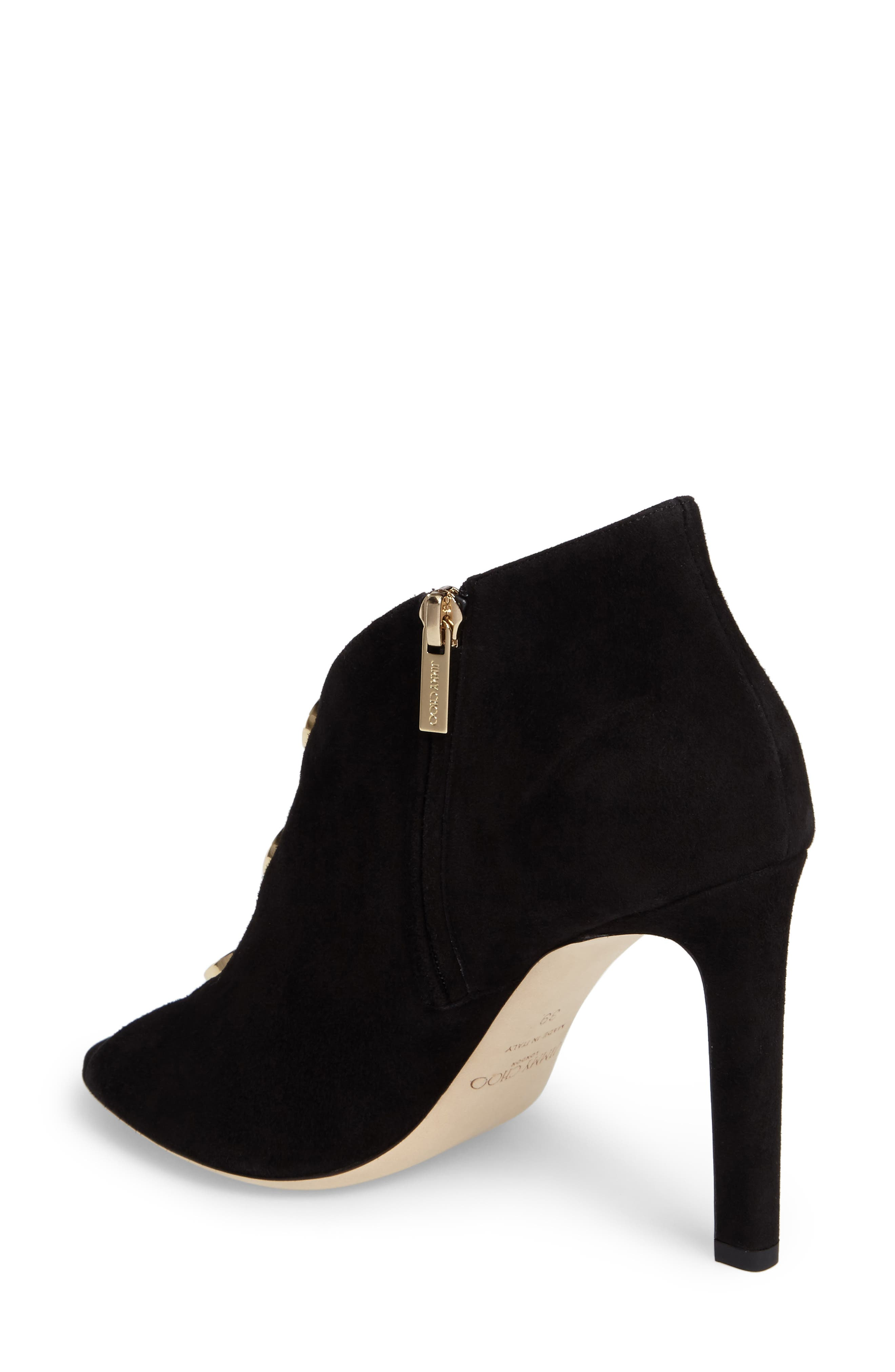 Alternate Image 2  - Jimmy Choo Lorna Button Open-Toe Bootie