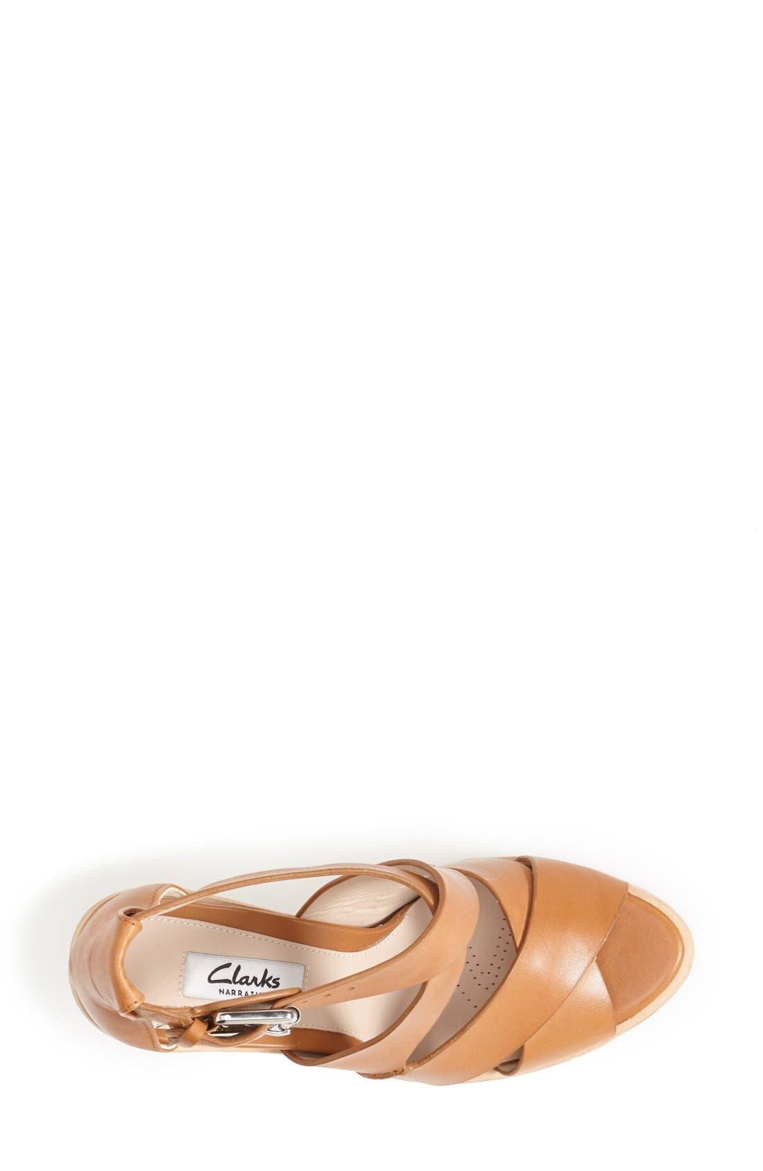 Alternate Image 3  - Clarks® Narrative 'Oriana Bess' Sandal (Women)