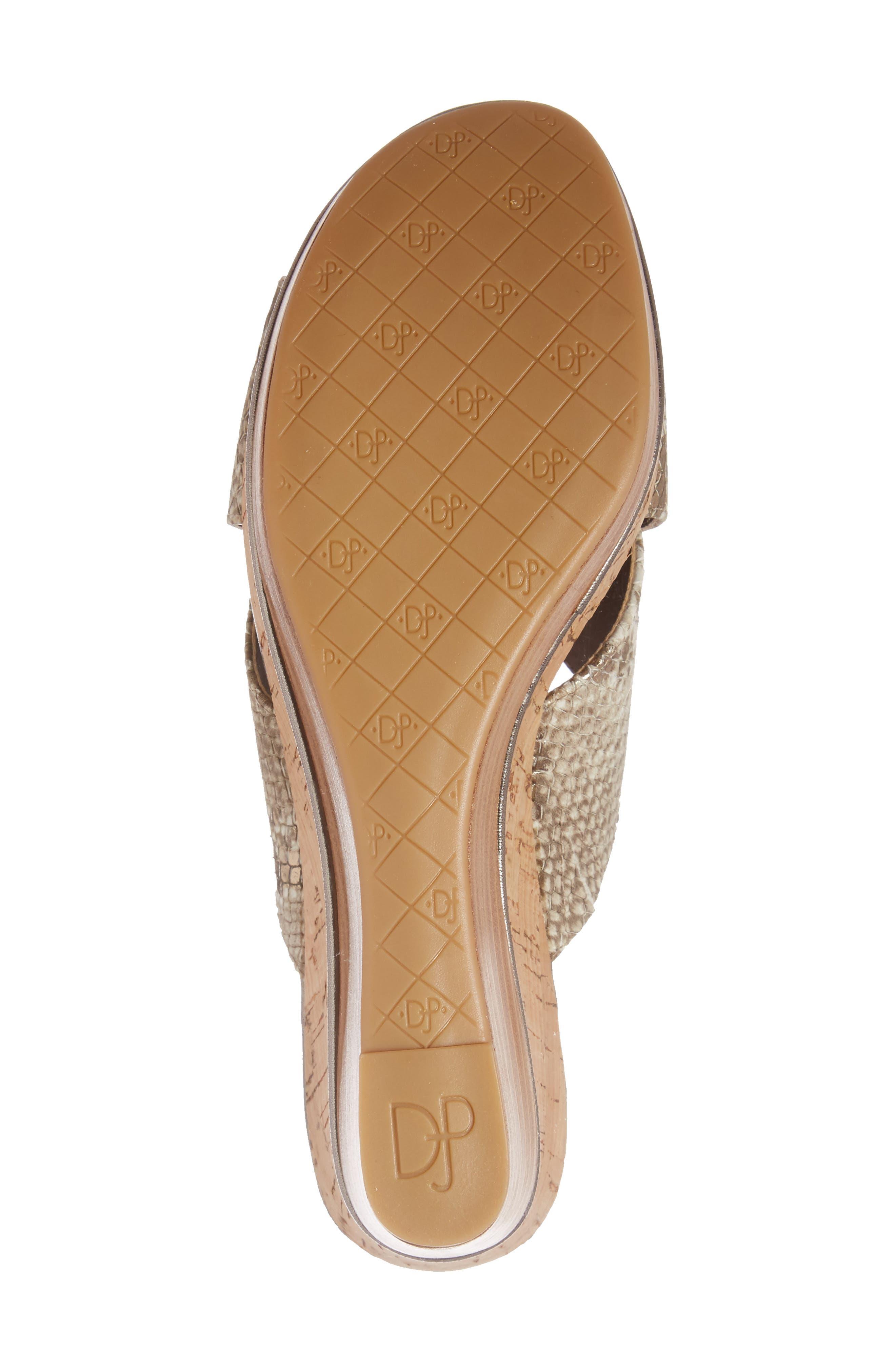 Alternate Image 5  - Donald J Pliner 'Dani' Crisscross Wedge Sandal (Women)