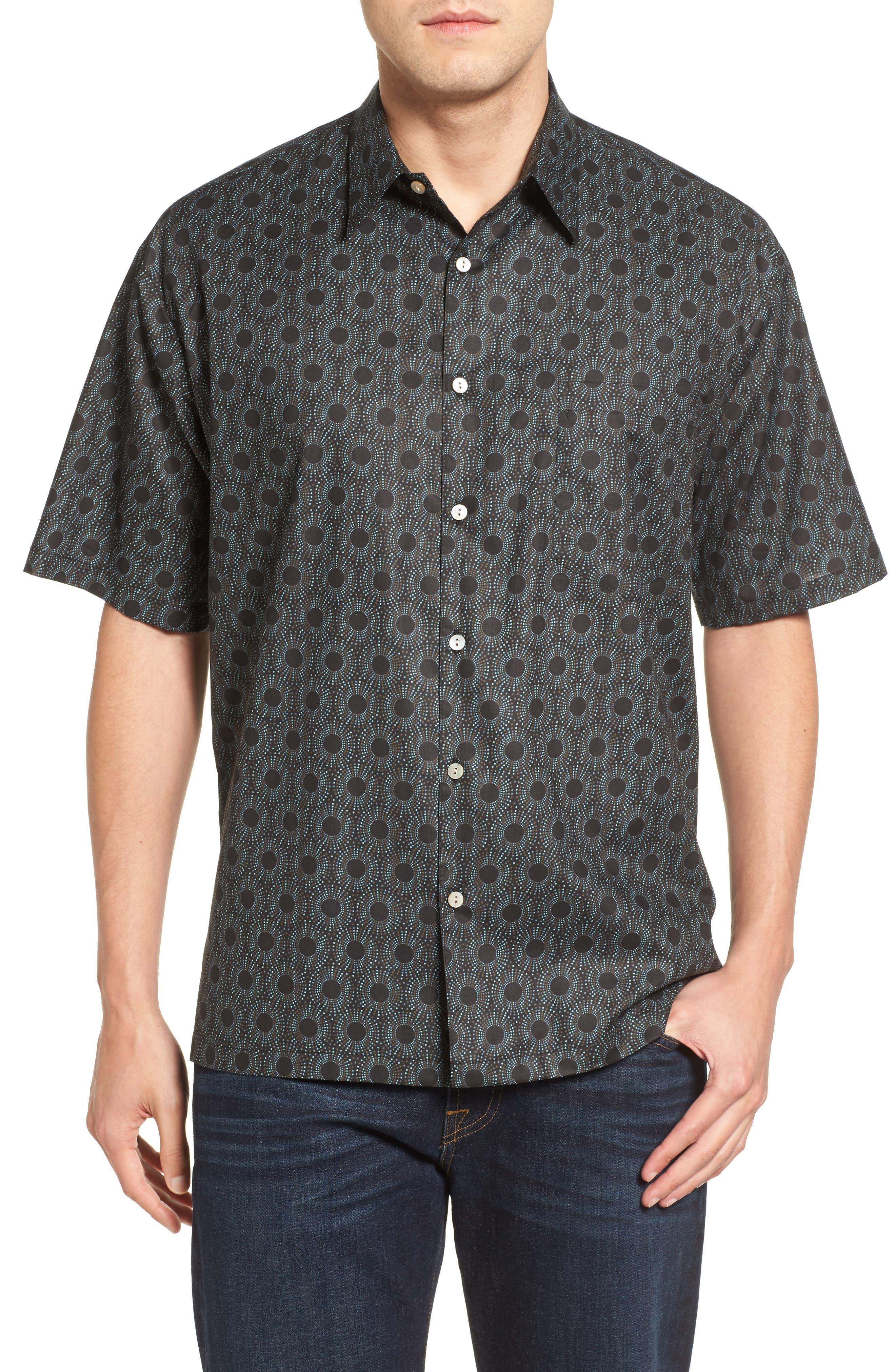 Tori Richard Hypnotique Short Sleeve Classic Fit Sport Shirt