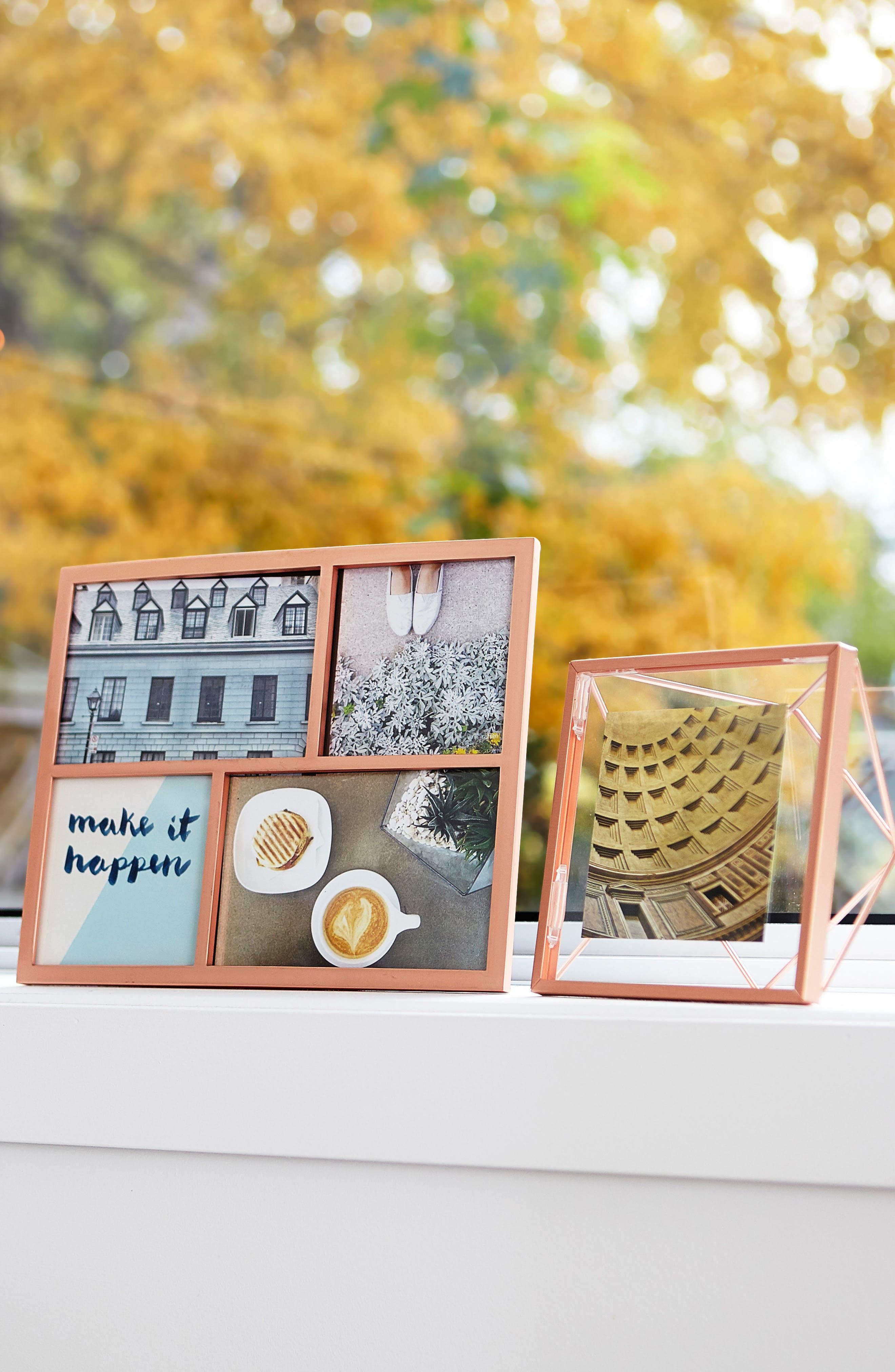 Senza Multi Display Picture Frame,                             Alternate thumbnail 3, color,                             Copper