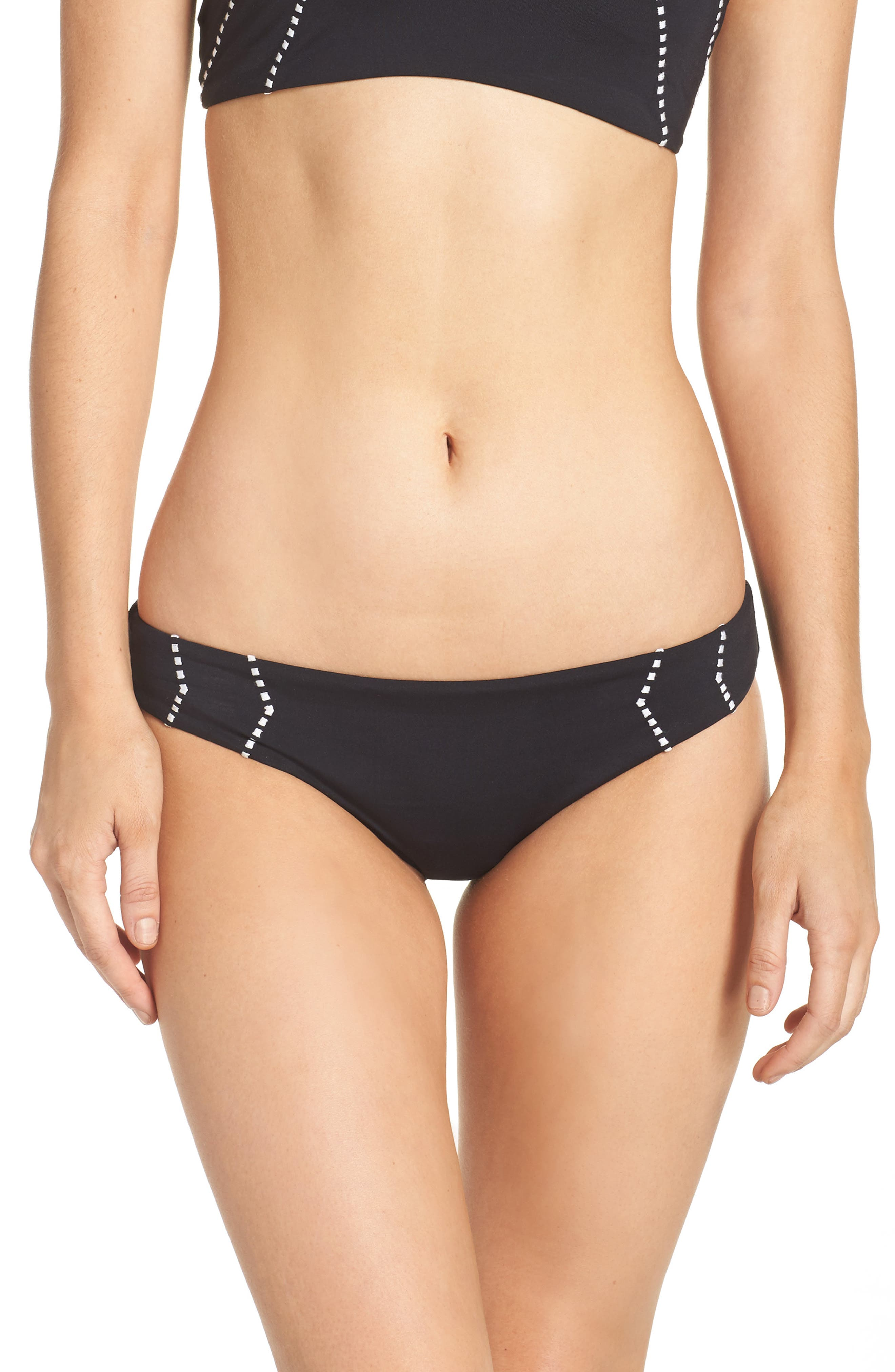 Main Image - Seafolly Beach Squad Hipster Bikini Bottoms