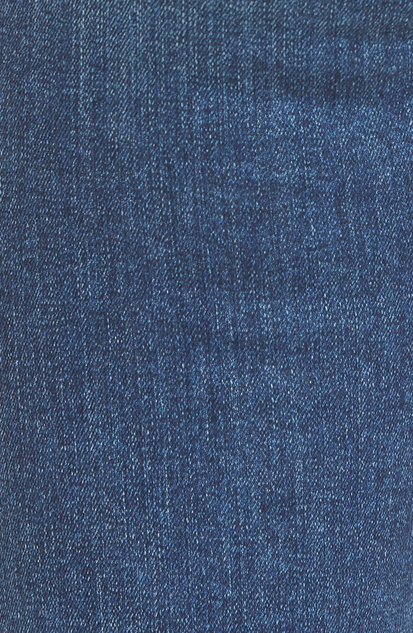 Alternate Image 5  - 7 For All Mankind® 'Kimmie' Straight Leg Jeans (Seratoga Bay)