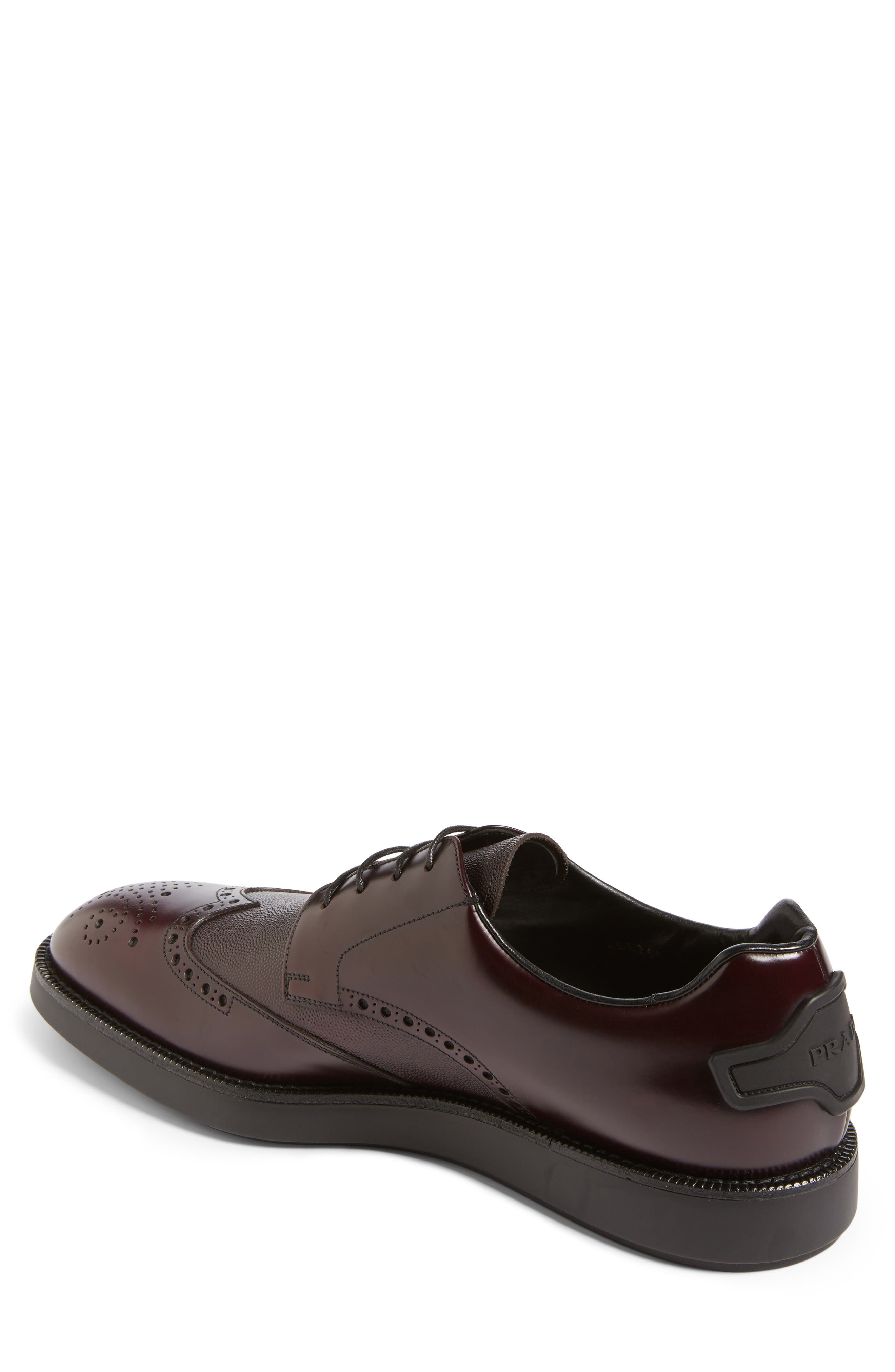 Alternate Image 2  - Prada Wingtip (Men)