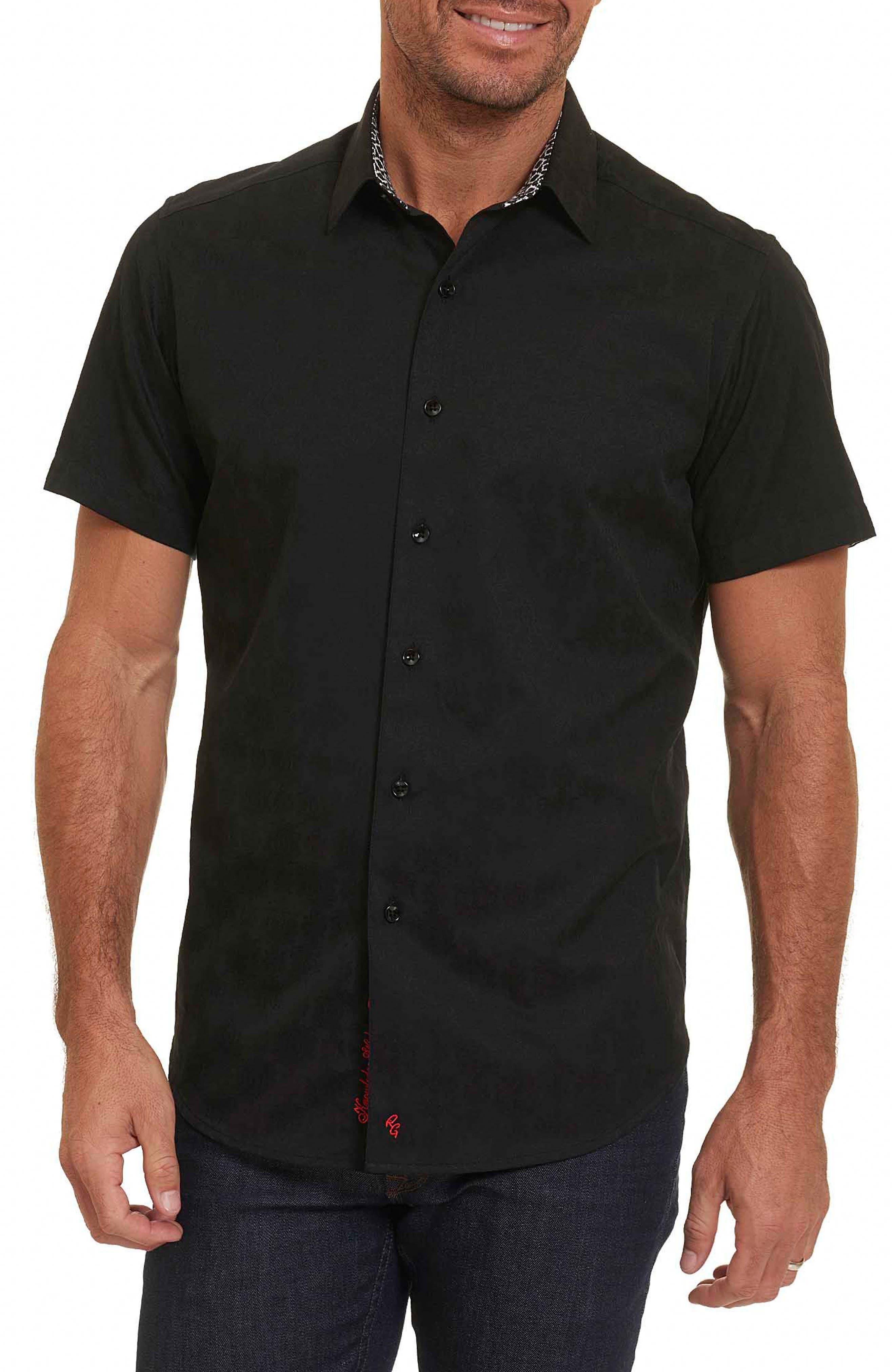 Cullen Regular Fit Sport Shirt,                         Main,                         color, Black