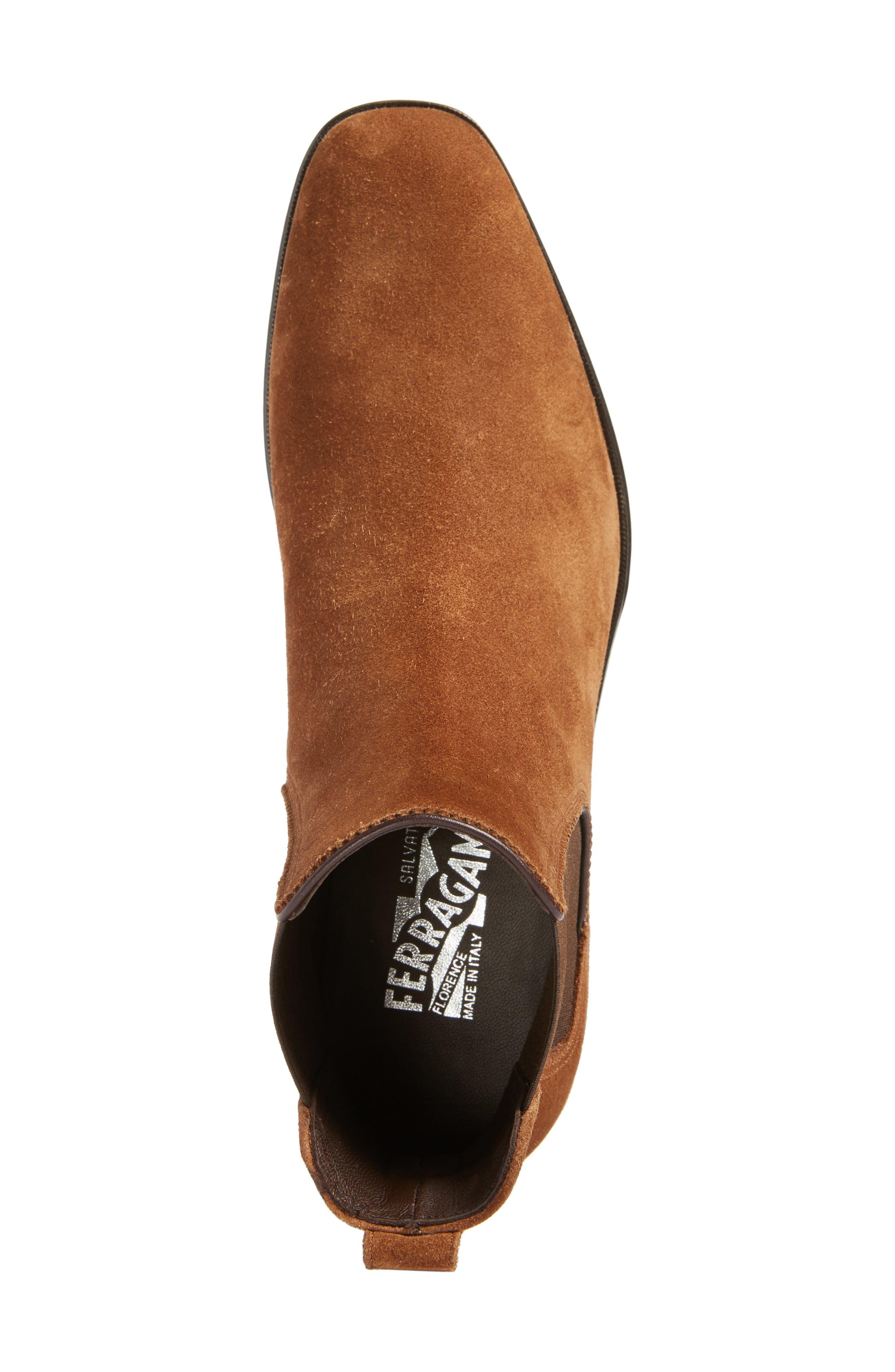 Alternate Image 5  - Salvatore Ferragamo Darien Chelsea Boot (Men)