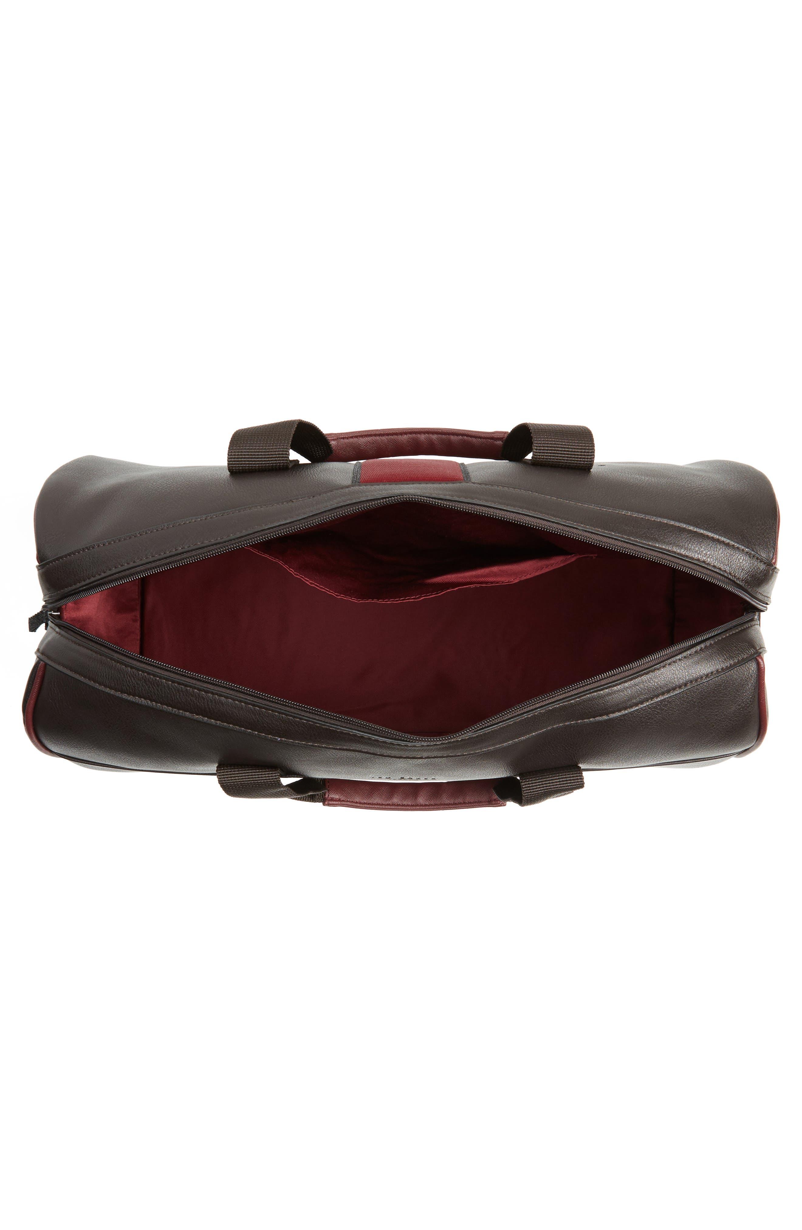 Alternate Image 4  - Ted Baker London Kray Duffel Bag