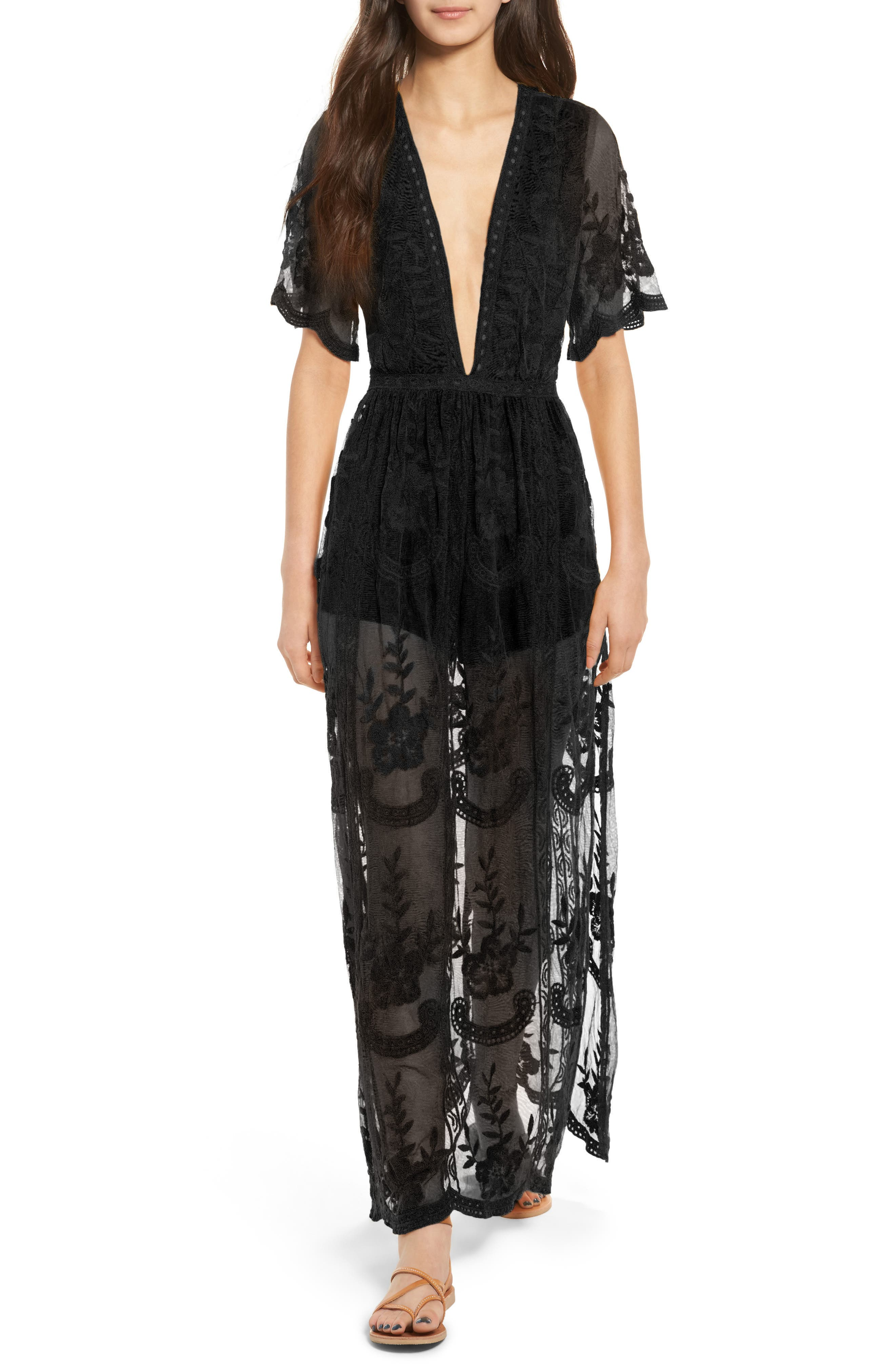 Socialite Lace Overlay Romper
