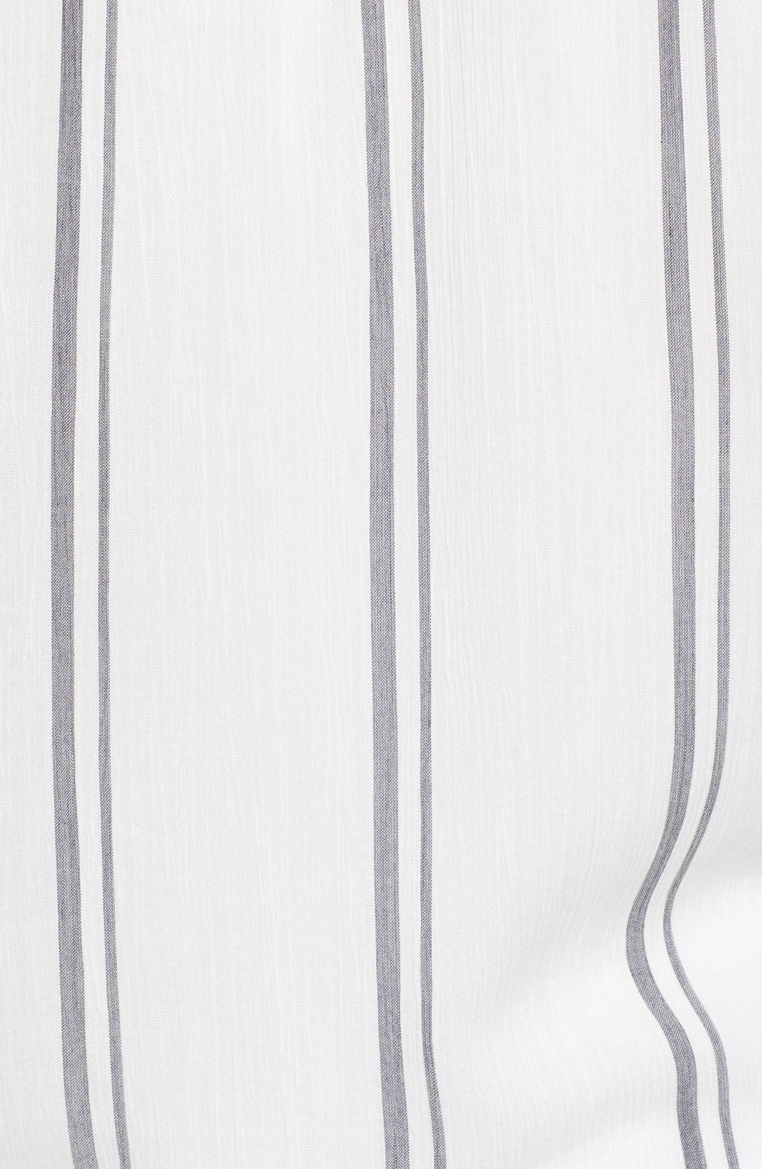 Alternate Image 5  - Two by Vince Camuto Parallel Stripe Henley Shirt