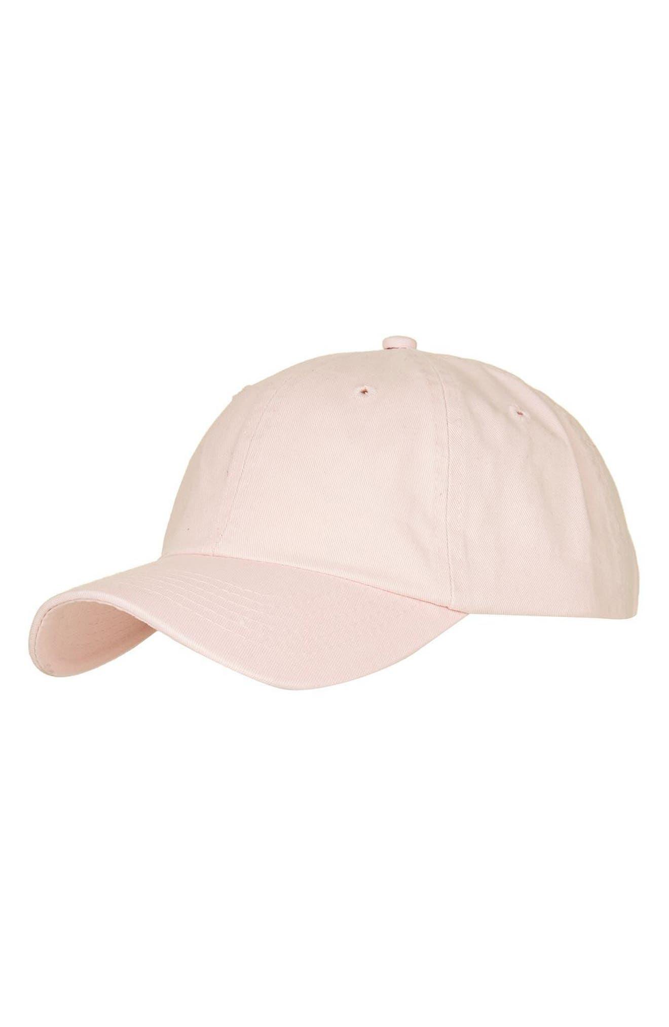 Alternate Image 1 Selected - Topshop Washed Baseball Cap