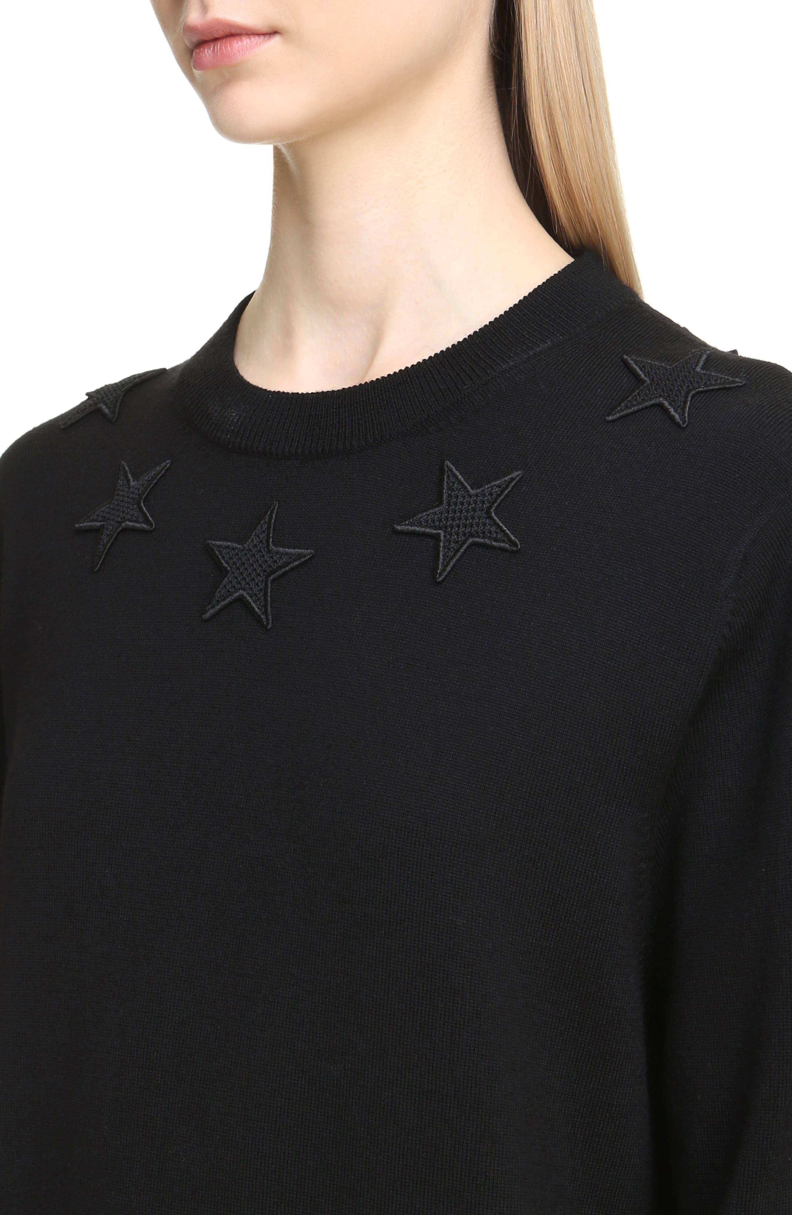Alternate Image 5  - Givenchy Star Embellished Wool Sweater