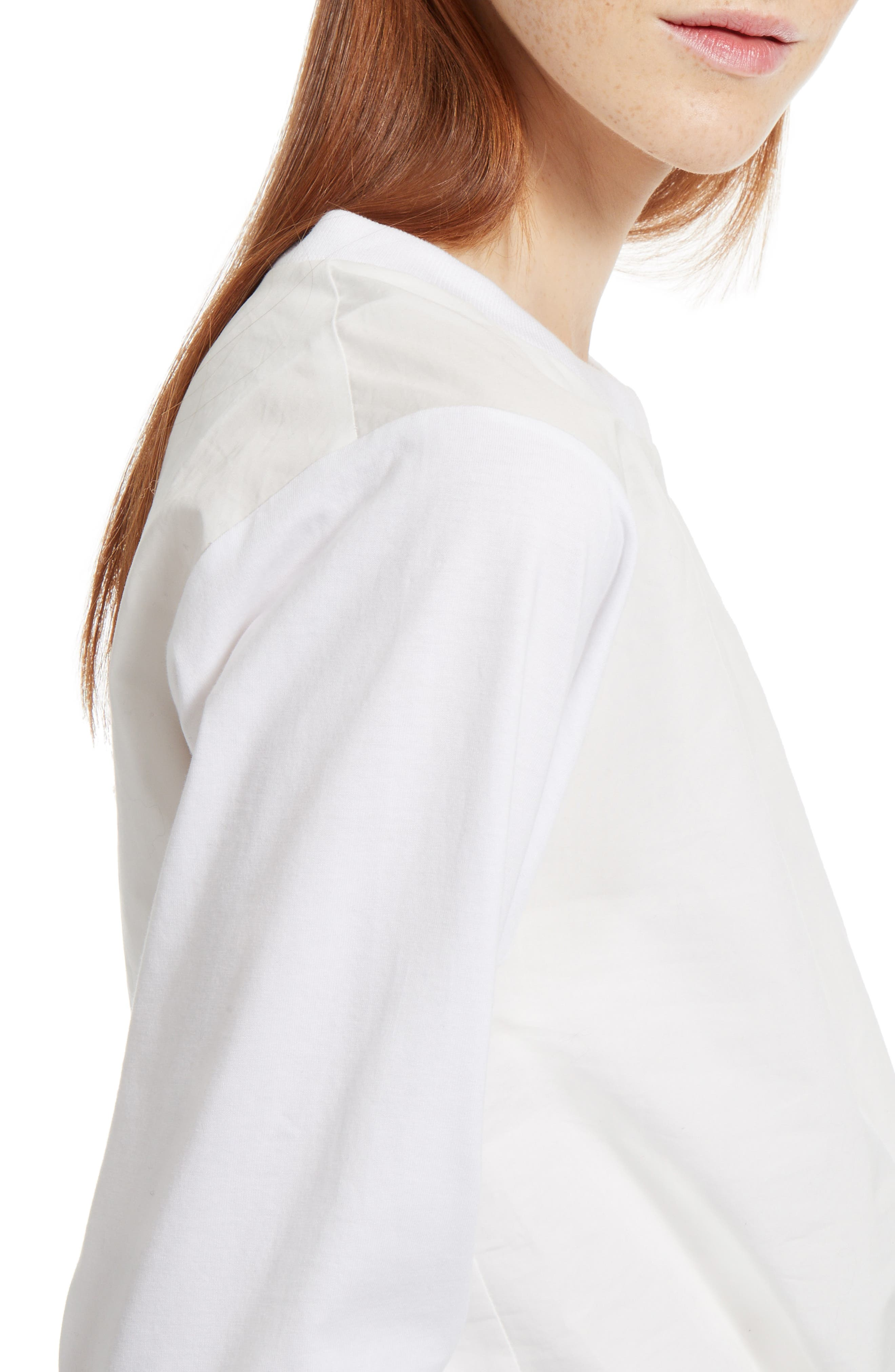 Alternate Image 5  - Chloé Layered Tie Front Top