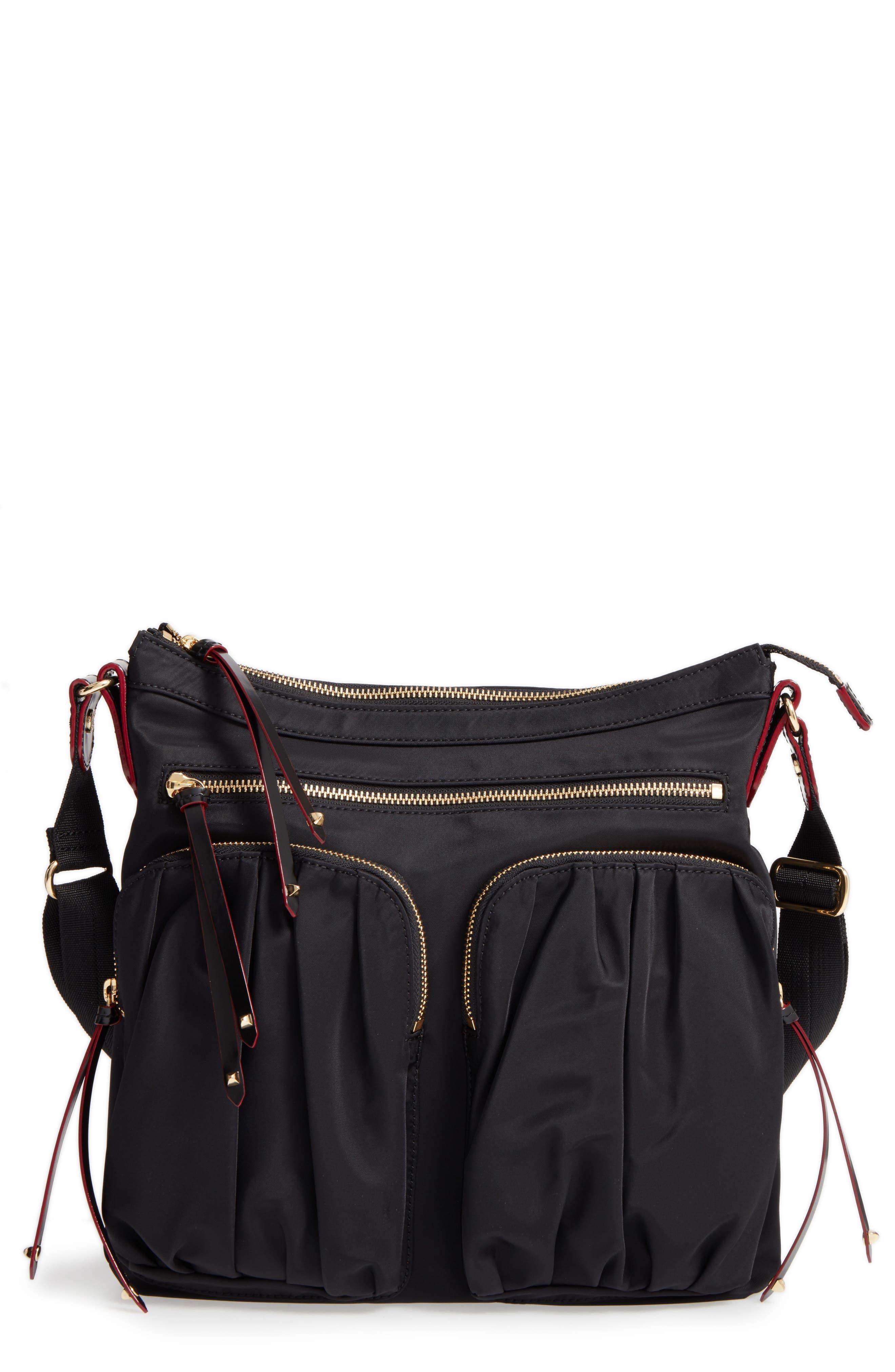 MZ Wallace 'Mia' Bedford Nylon Crossbody Bag