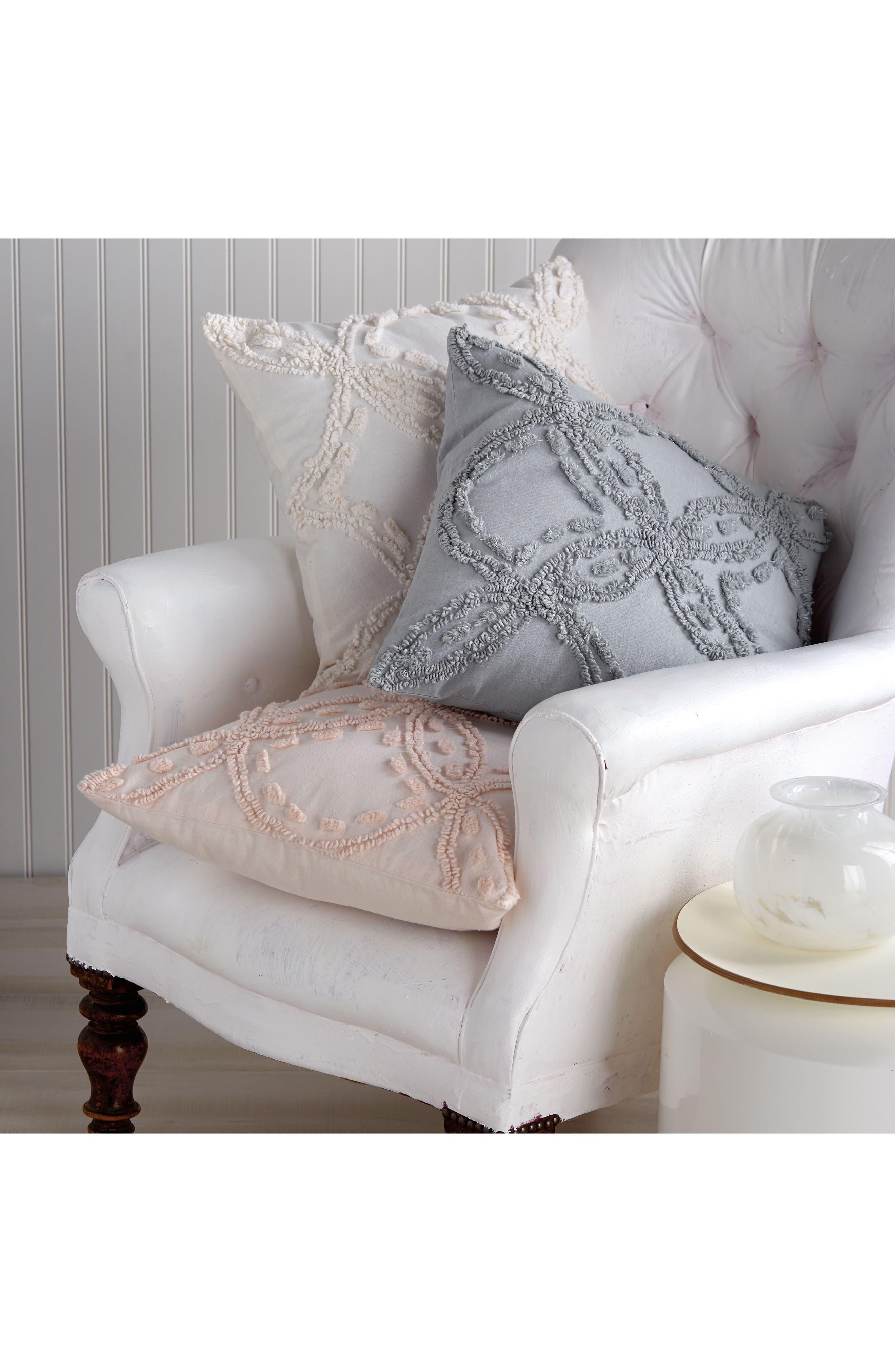 Chenille Pillow,                             Alternate thumbnail 3, color,