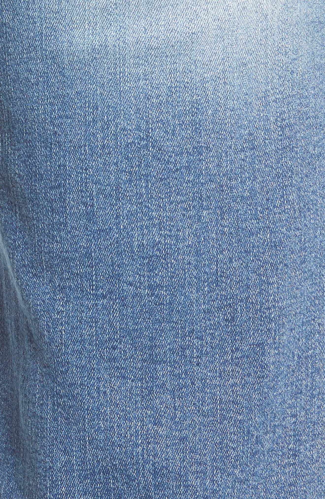 Alternate Image 5  - Wit & Wisdom Ab-solution Ripped Denim Bermuda Shorts (Regular & Petite) (Nordstrom Exclusive)