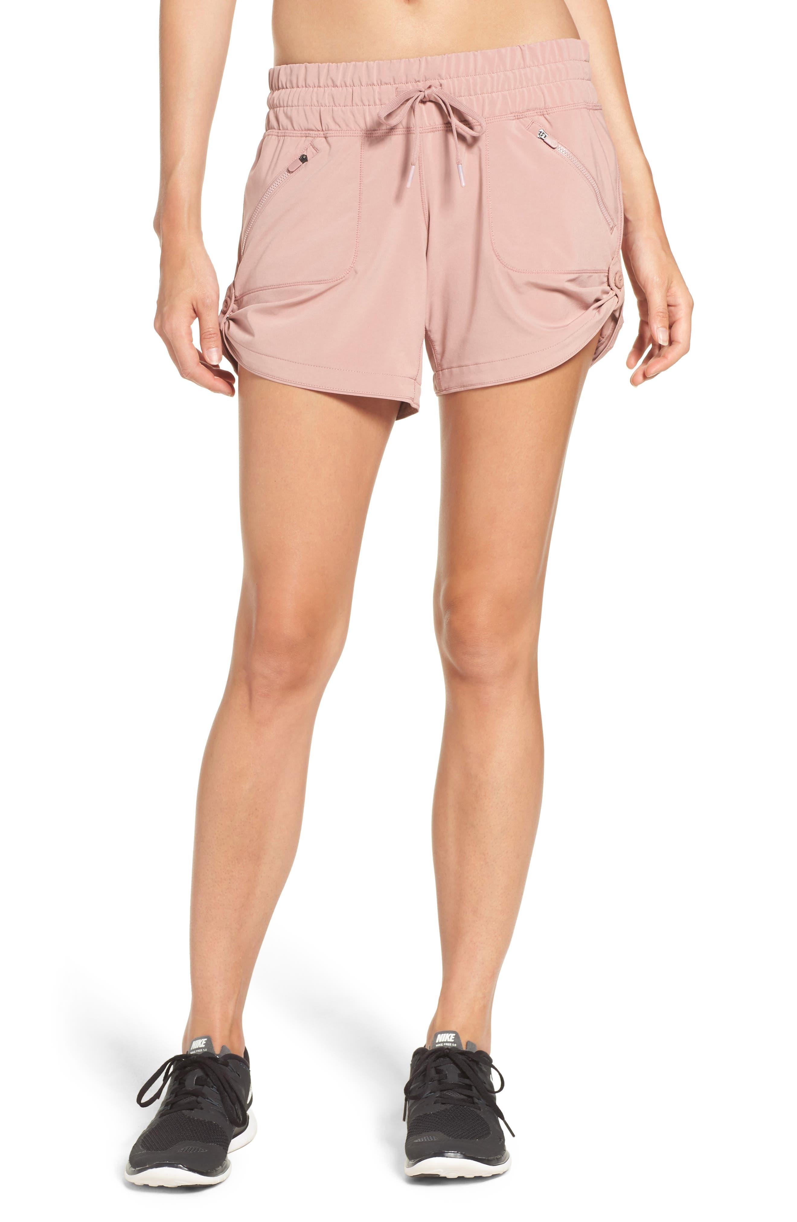 Alternate Image 1 Selected - Zella Switchback Shorts