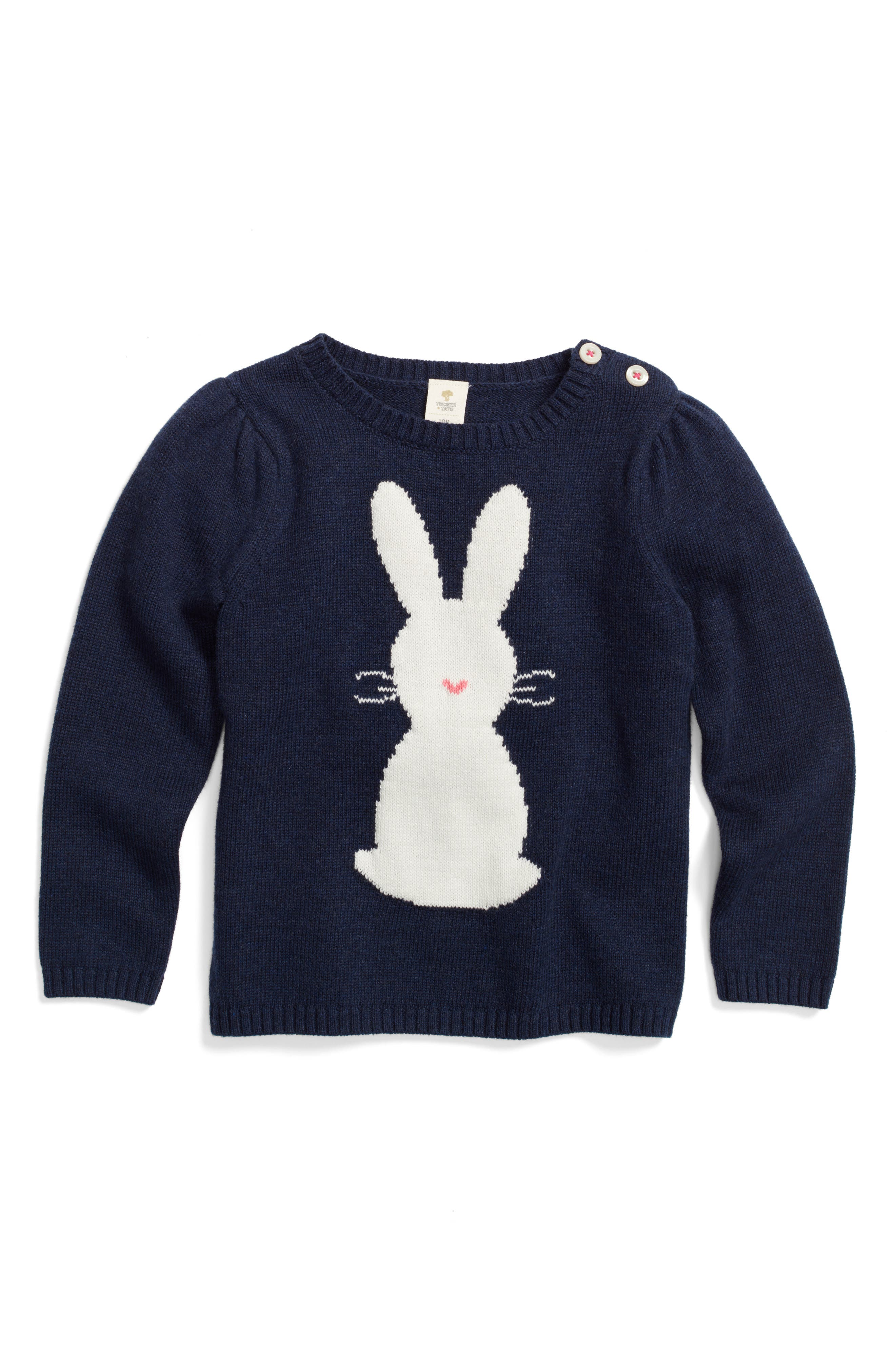 Tucker + Tate Bunny Sweater (Baby Girls)