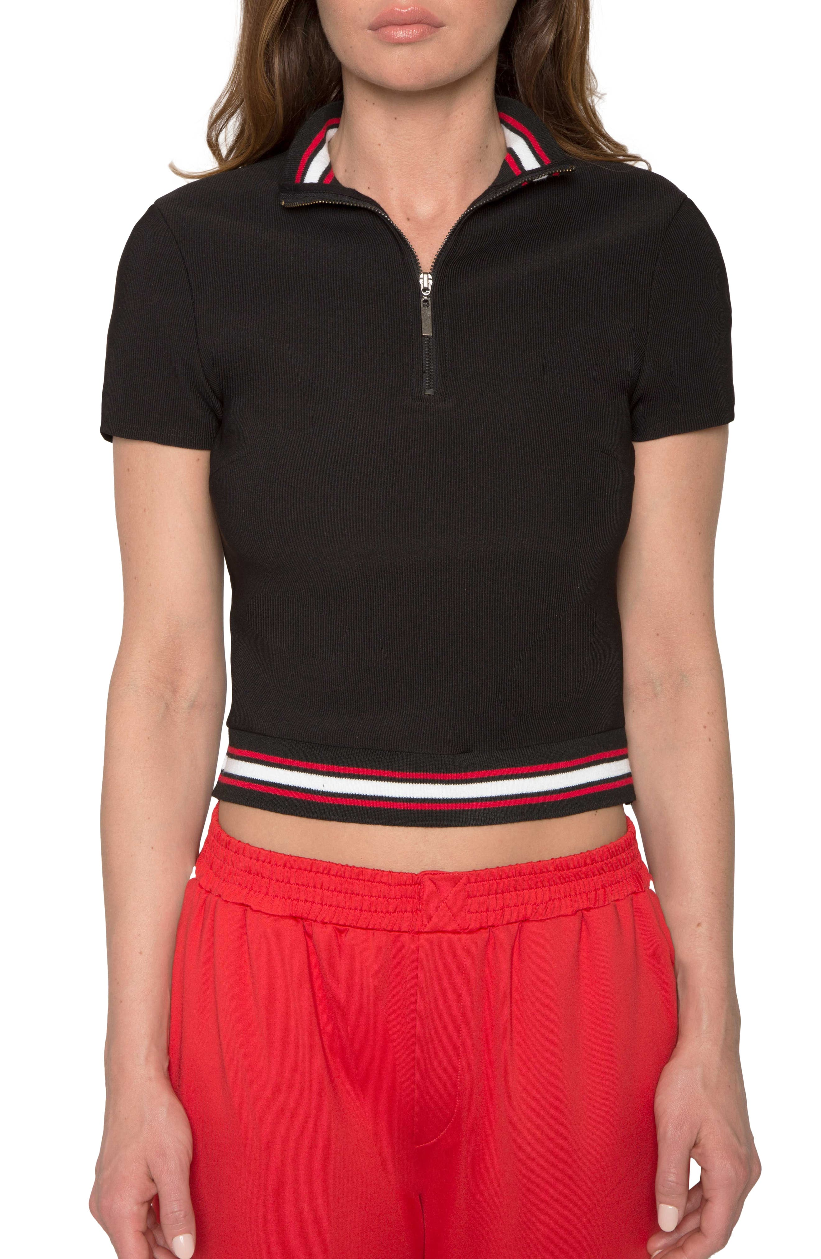 Willow & Clay Crop Polo