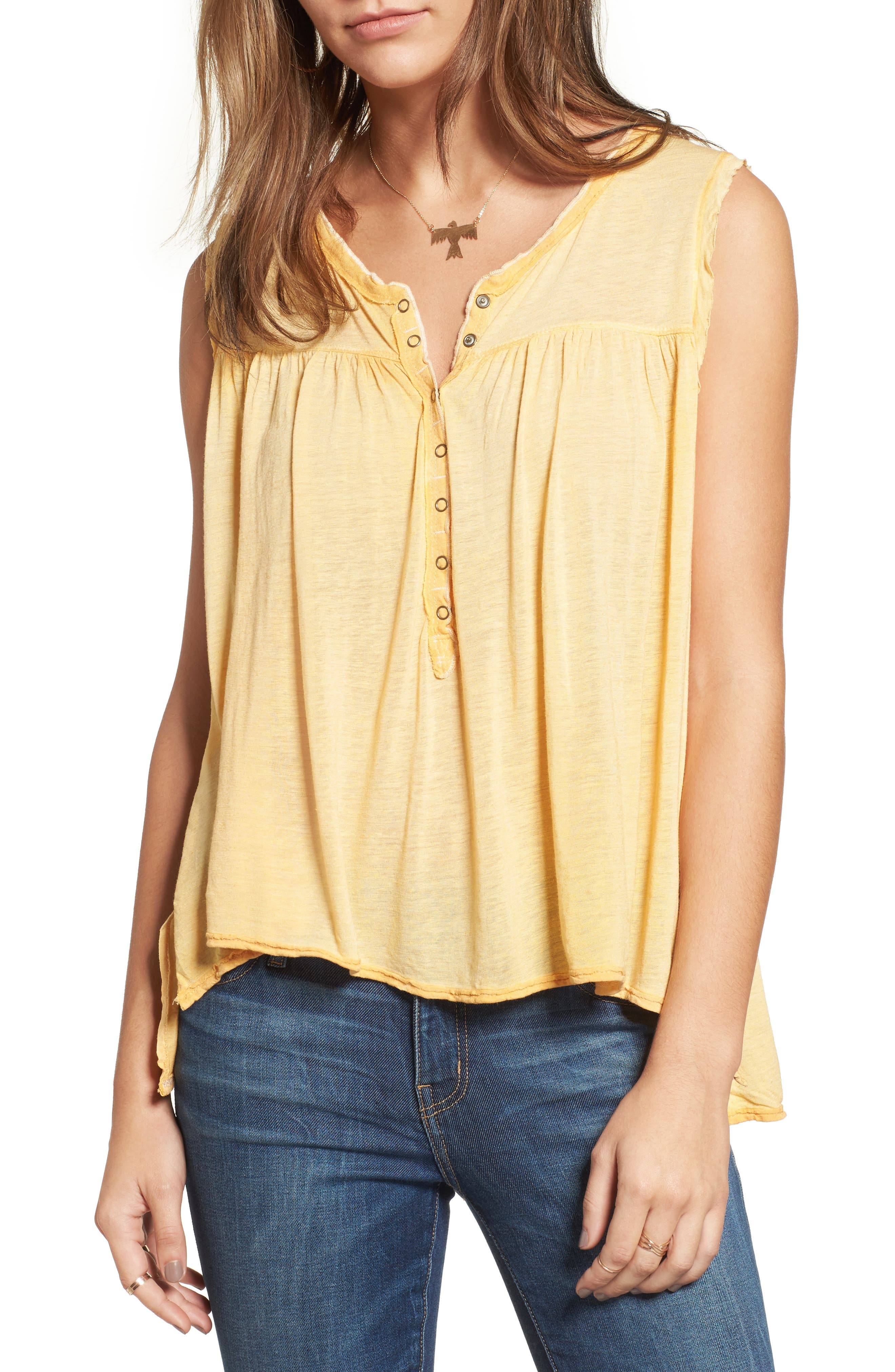Hudson Tank,                         Main,                         color, Yellow