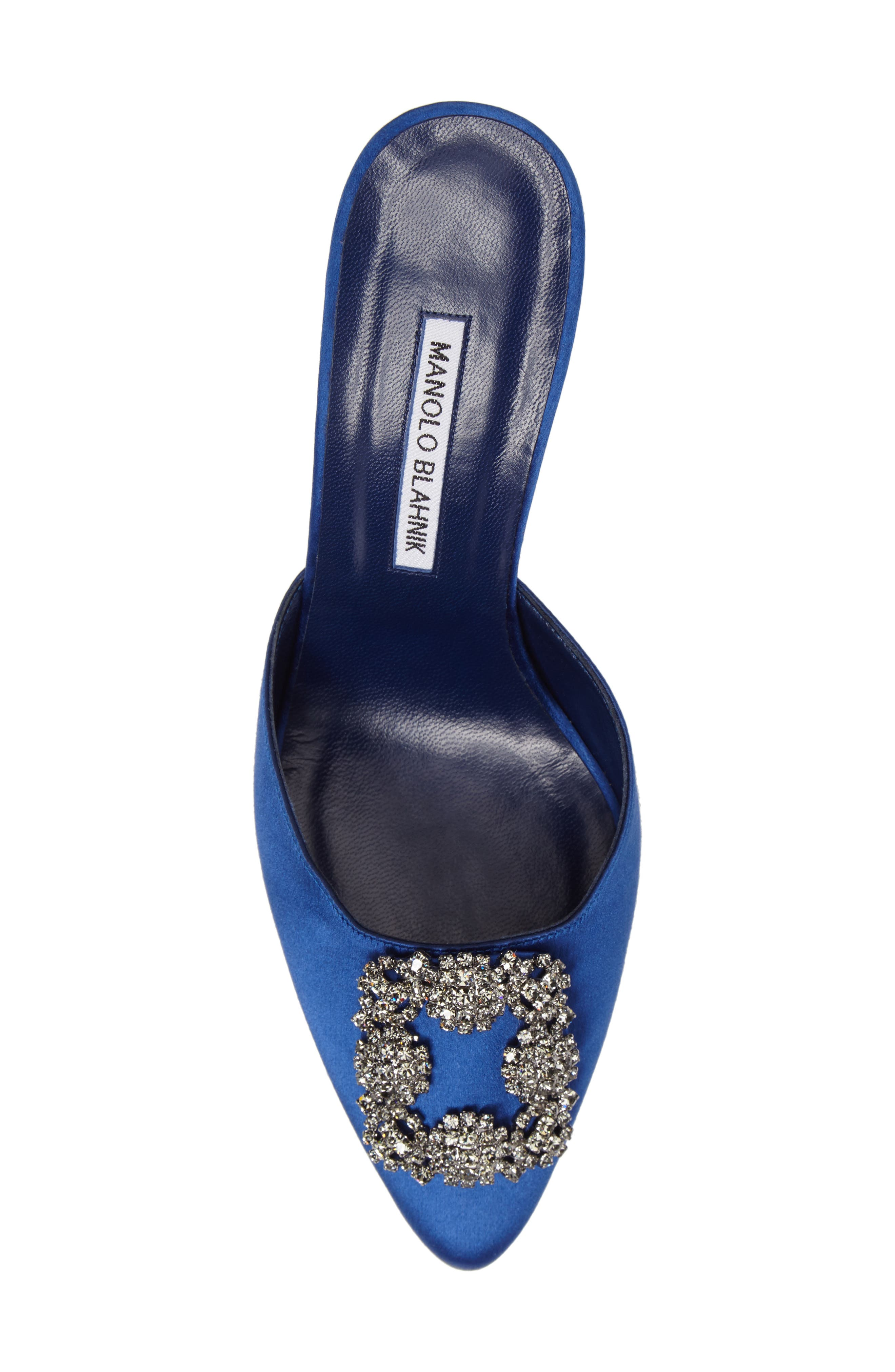 Alternate Image 5  - Manolo Blahnik Hangisi Embellished Mule (Women)