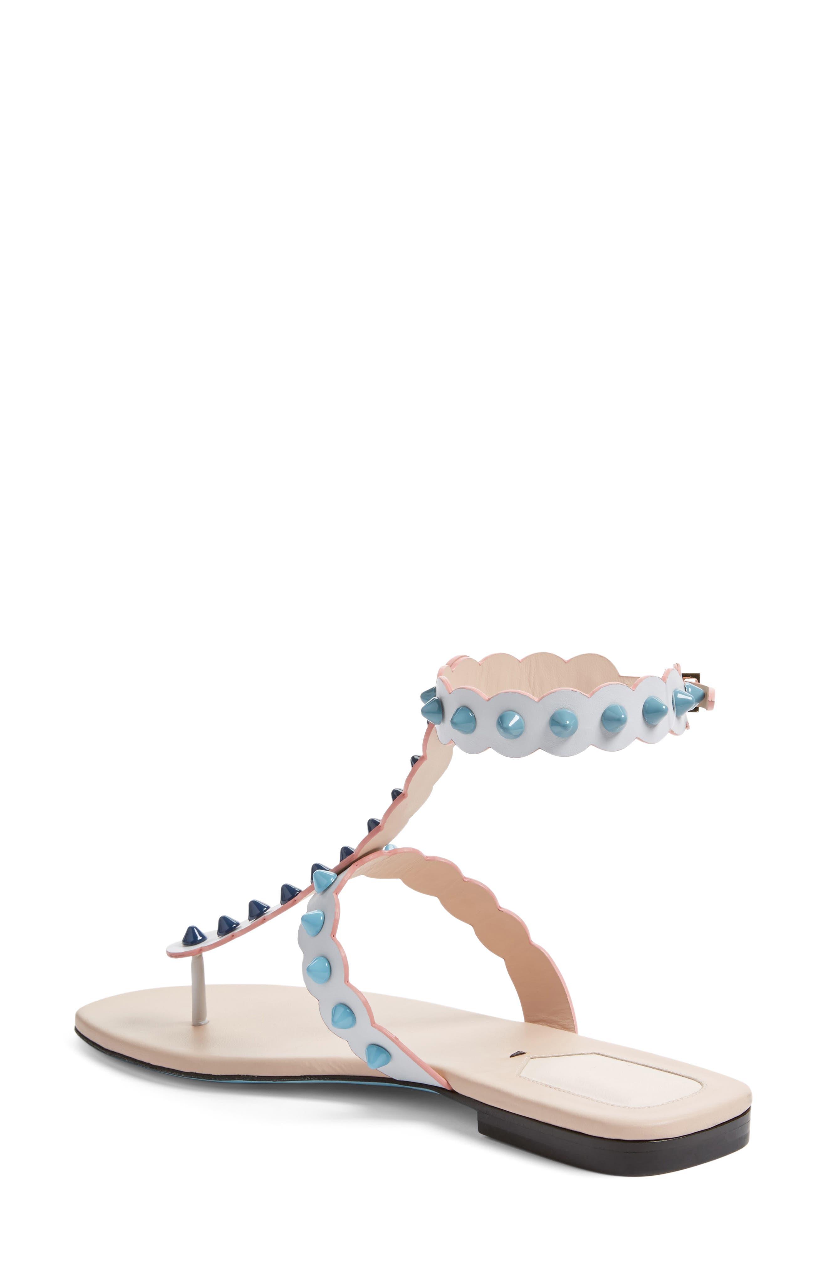Alternate Image 2  - Fendi Studded Gladiator Sandal (Women)
