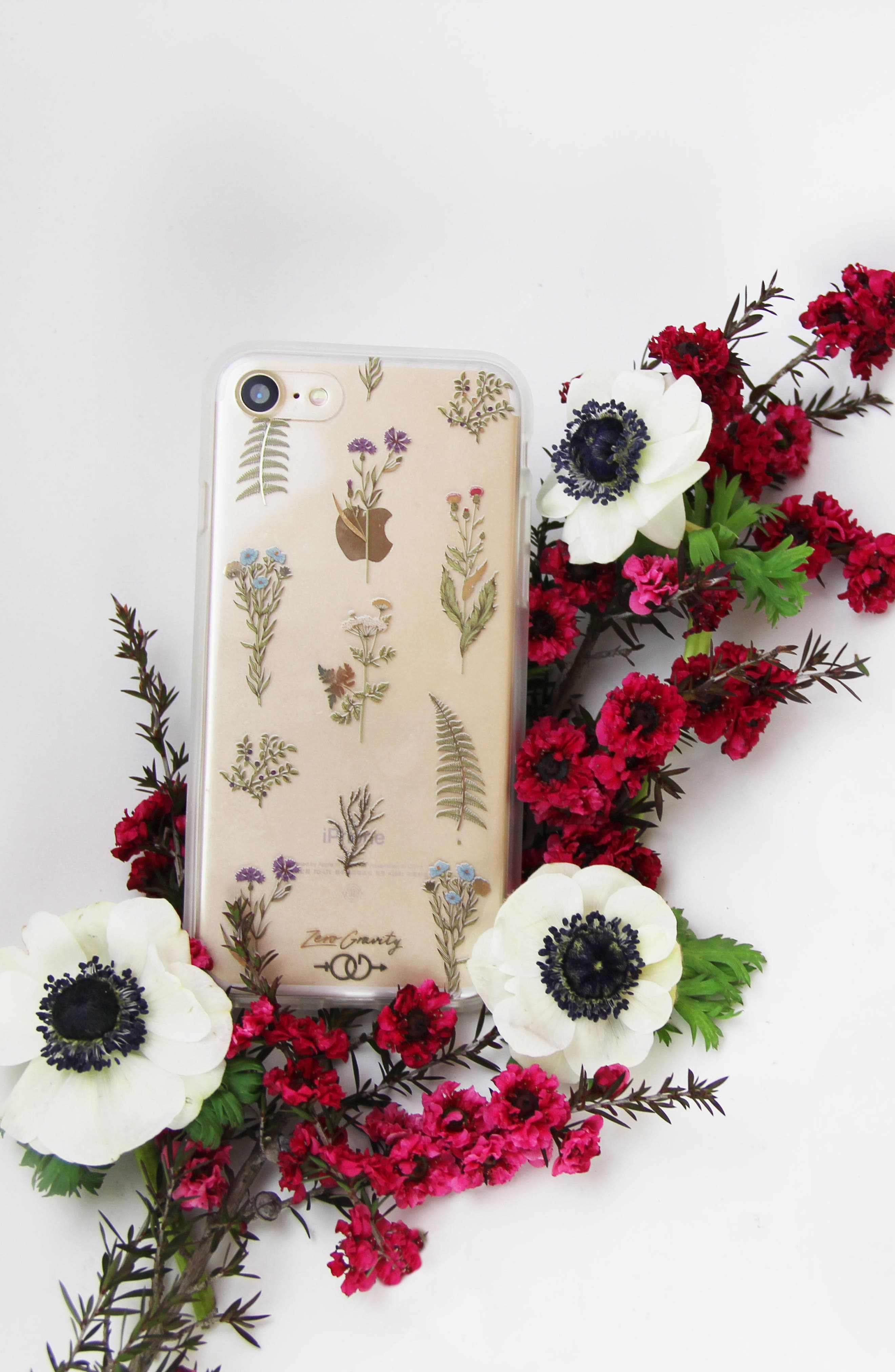 Native Plants iPhone 7 & 7 Plus Case,                             Alternate thumbnail 4, color,                             Green Multi