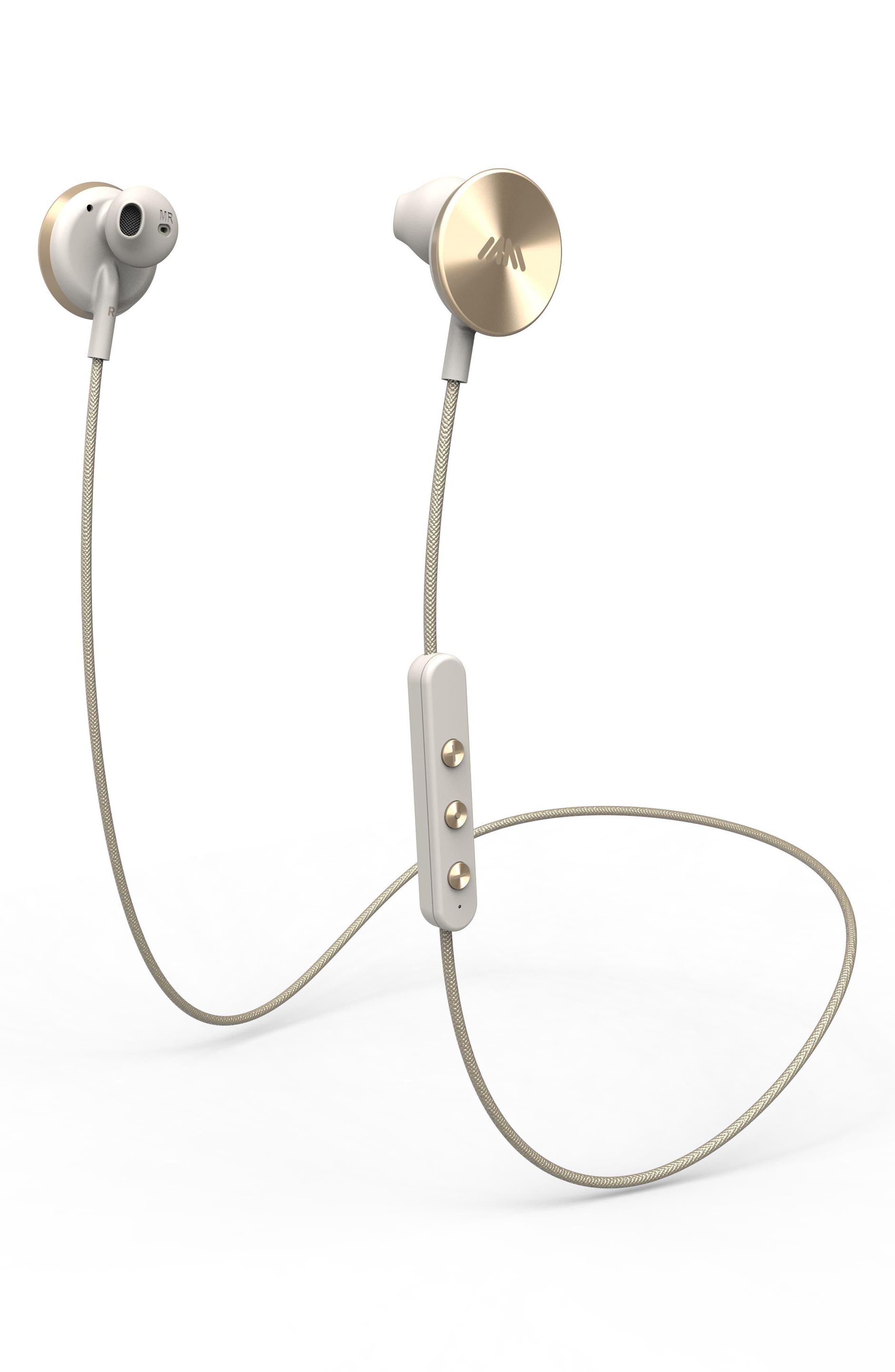 IAMPLUS i.am+ Buttons Bluetooth Headphones