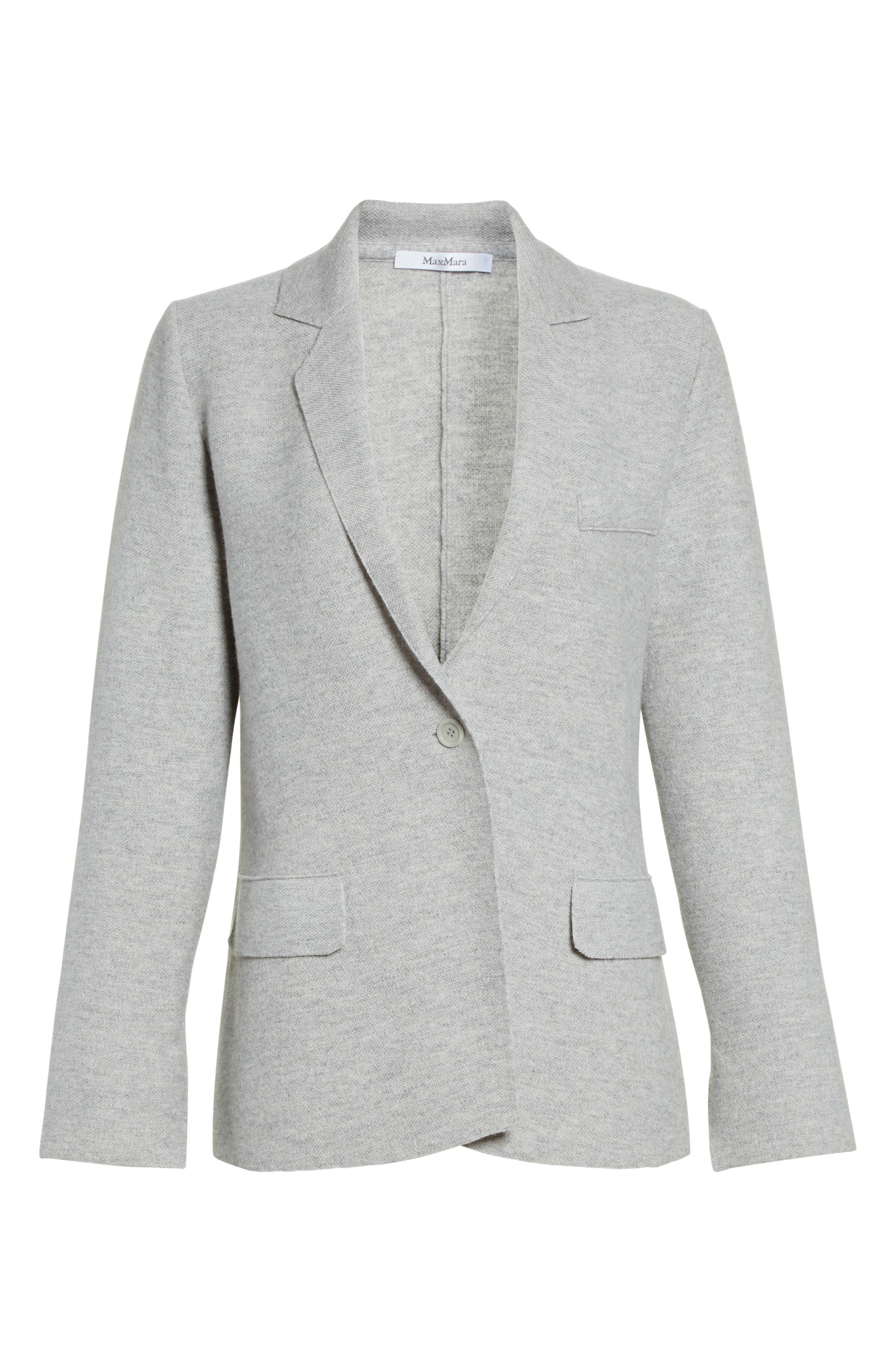 Alternate Image 4  - Max Mara Segnale Cashmere Jacket