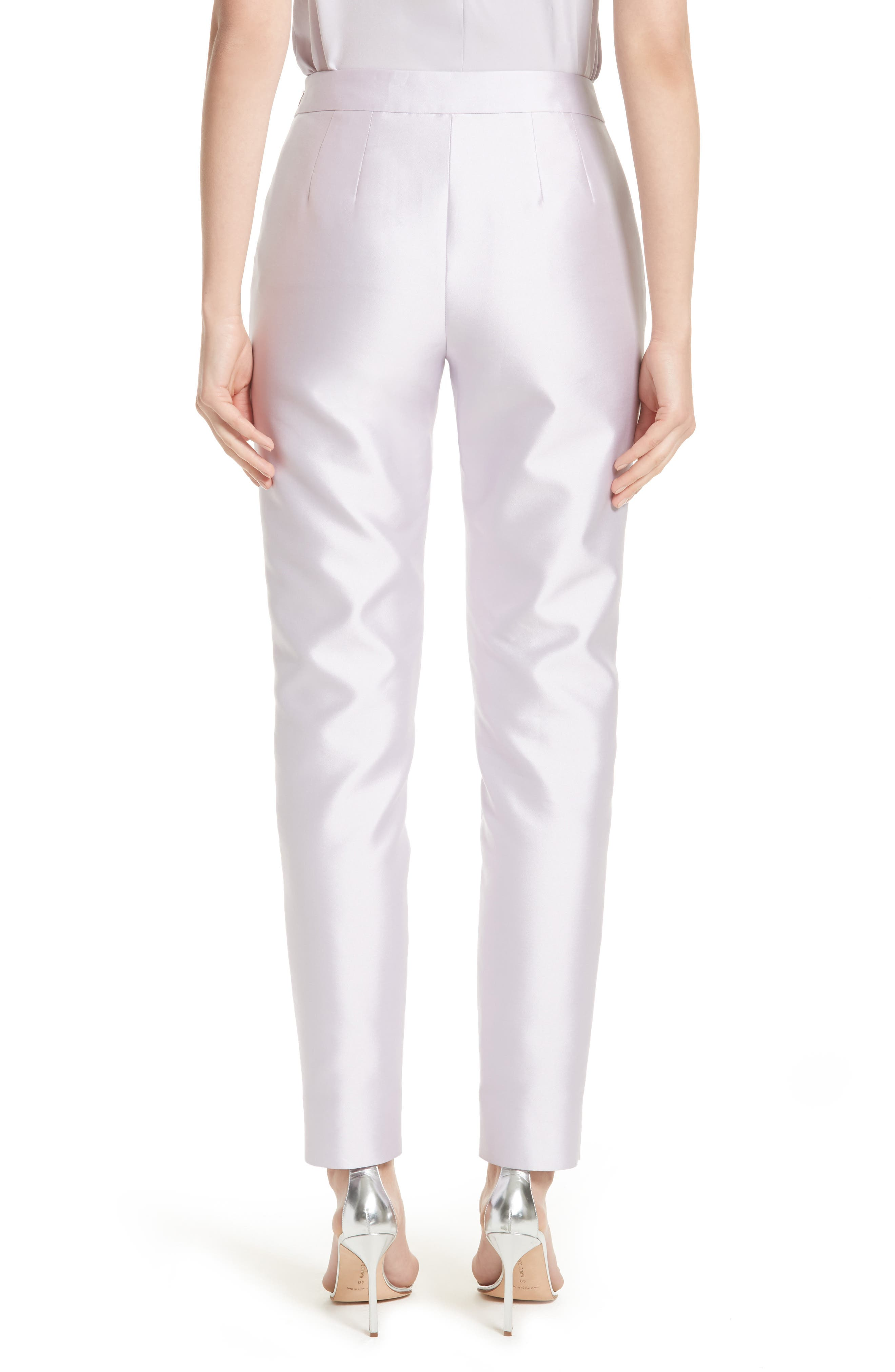 Alternate Image 2  - St. John Collection Mikado Ankle Skinny Pants