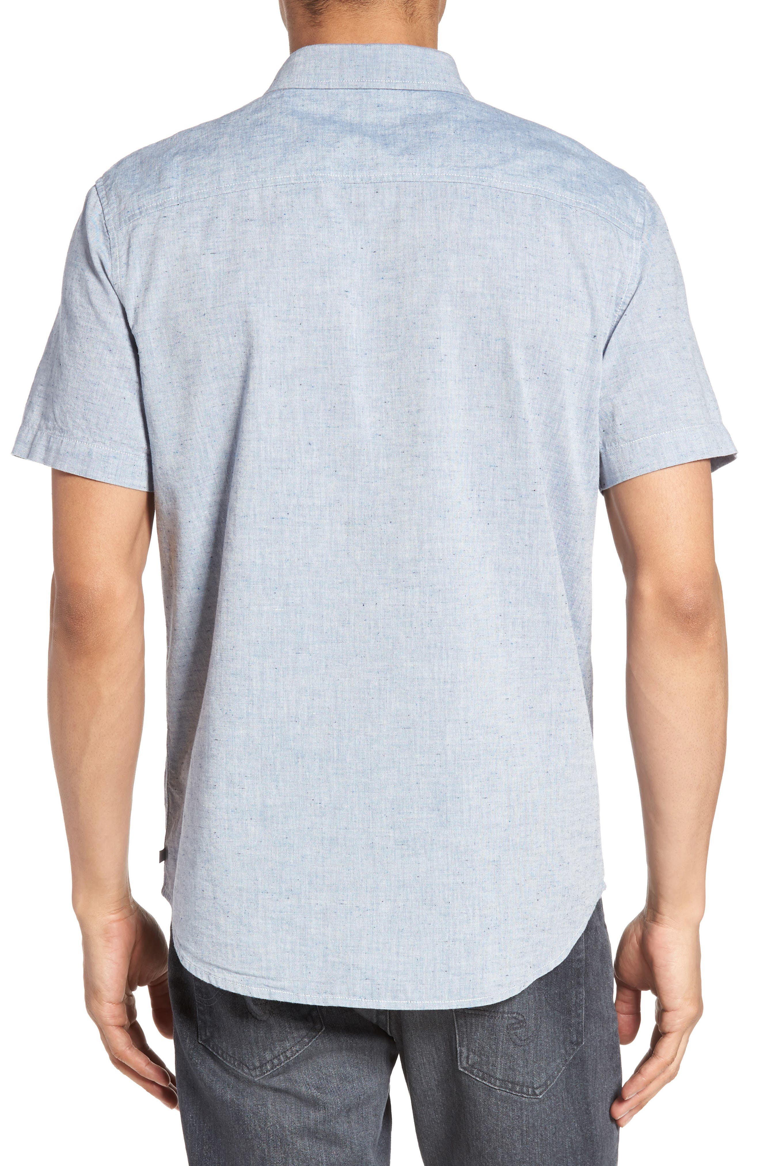 Alternate Image 2  - AG Nash Slub Cotton Shirt