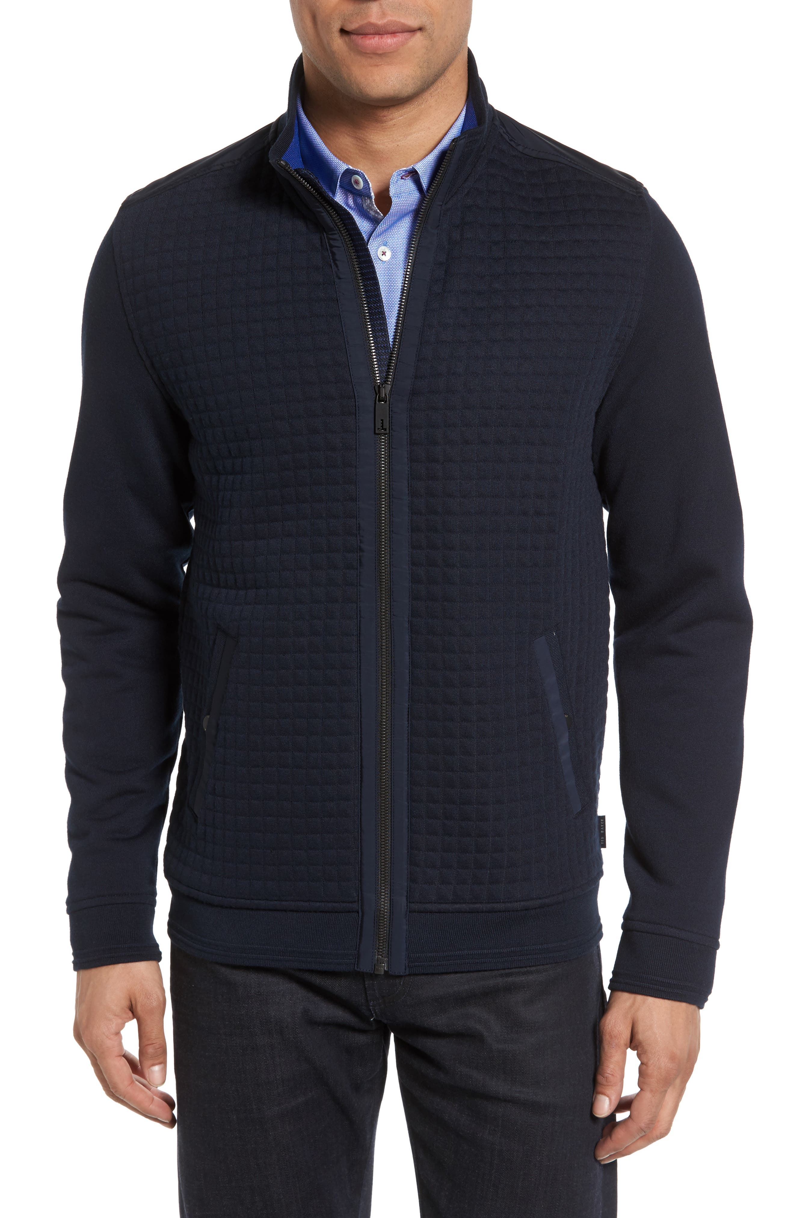 Ted Baker London Whooty Full Zip Fleece Jacket