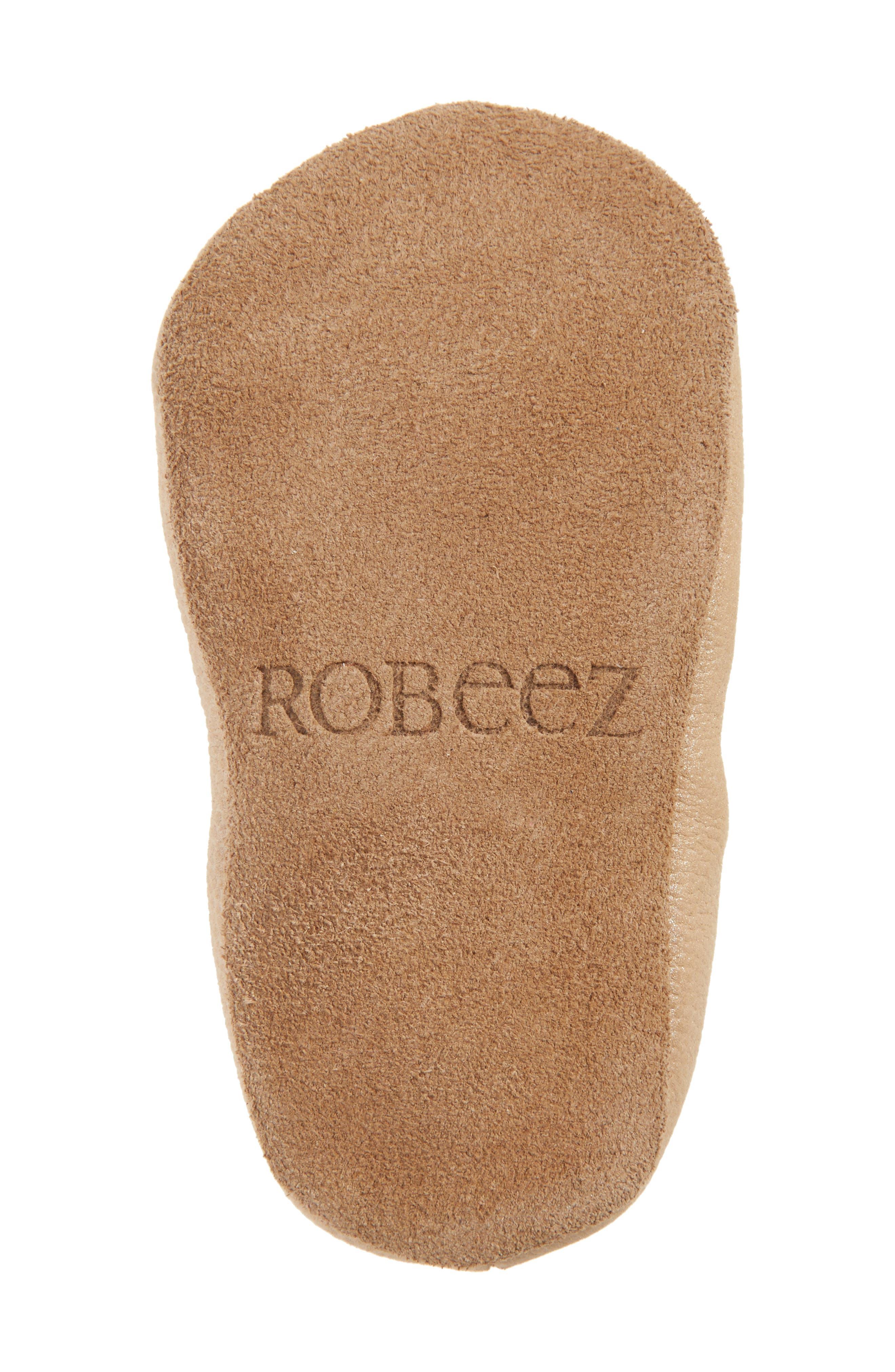 Alternate Image 6  - Robeez® Rachel Ballet Flat (Baby & Walker)