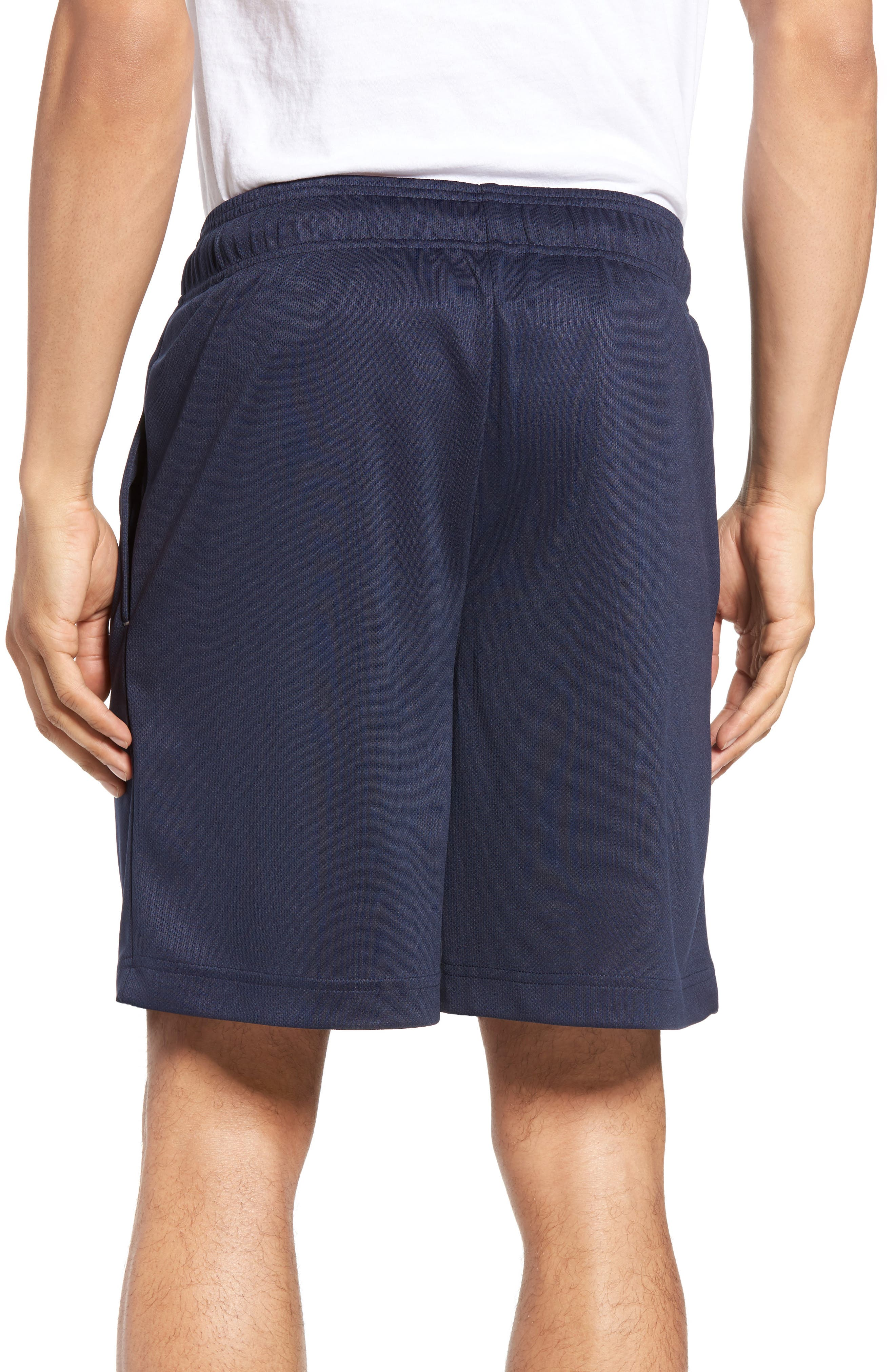 Work Out Lounge Shorts,                             Alternate thumbnail 2, color,                             Navy