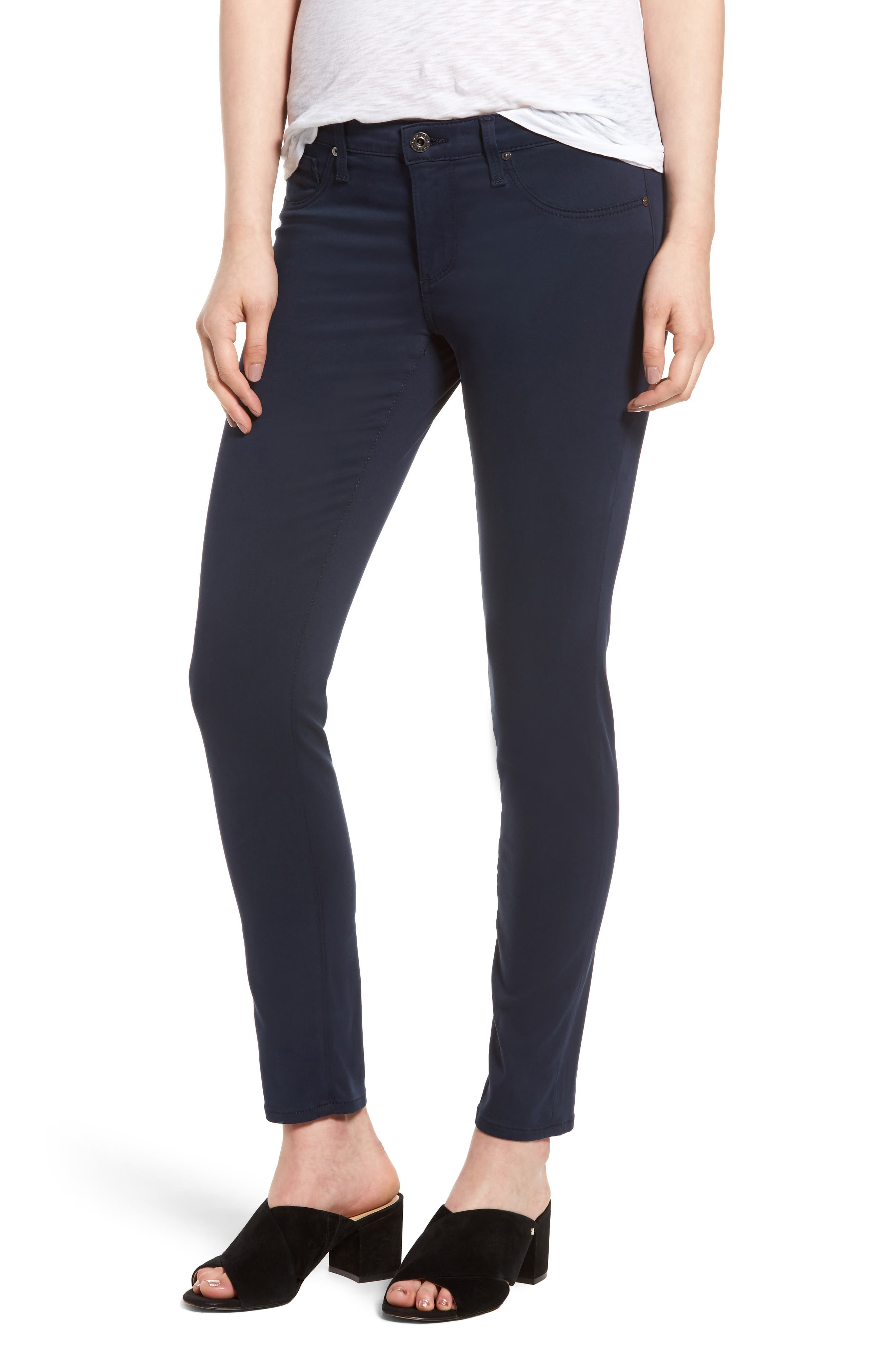 The Legging Ankle Jeans,                         Main,                         color, Blue Night