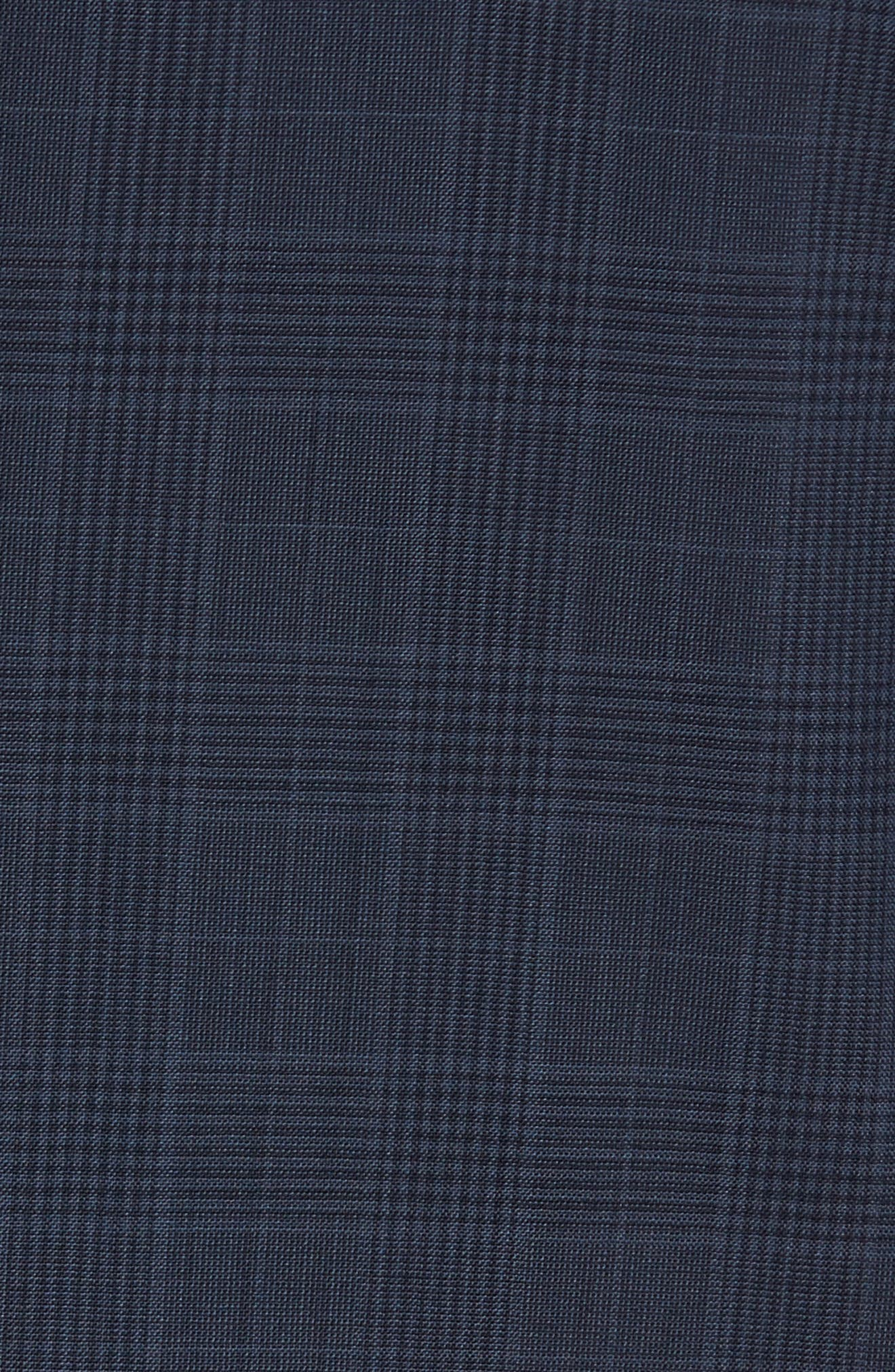 Alternate Image 7  - Michael Bastian Classic Fit Plaid Wool Suit
