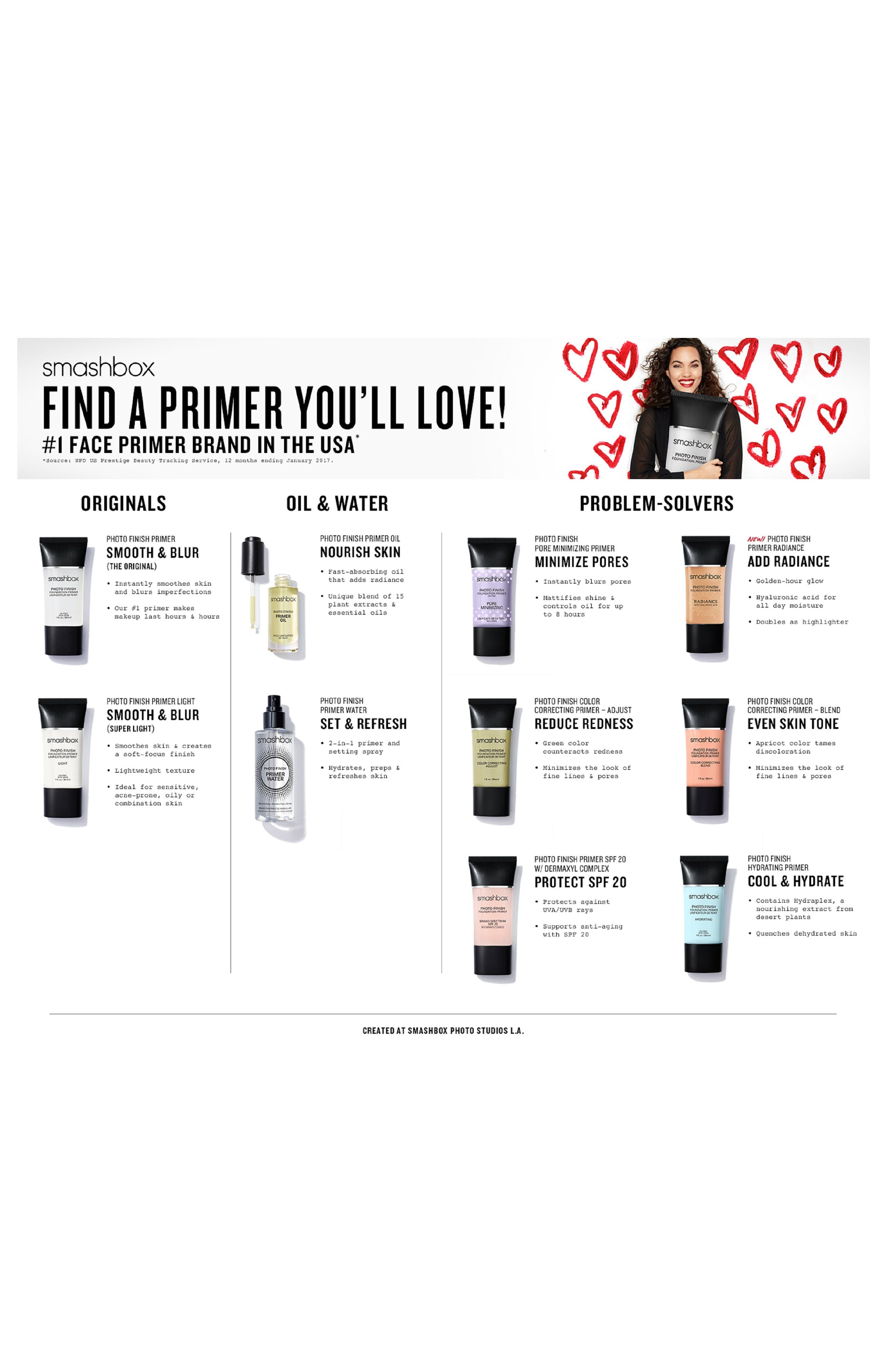 Alternate Image 7  - Smashbox Photo Finish Foundation Primer Radiance with Hyaluronic Acid
