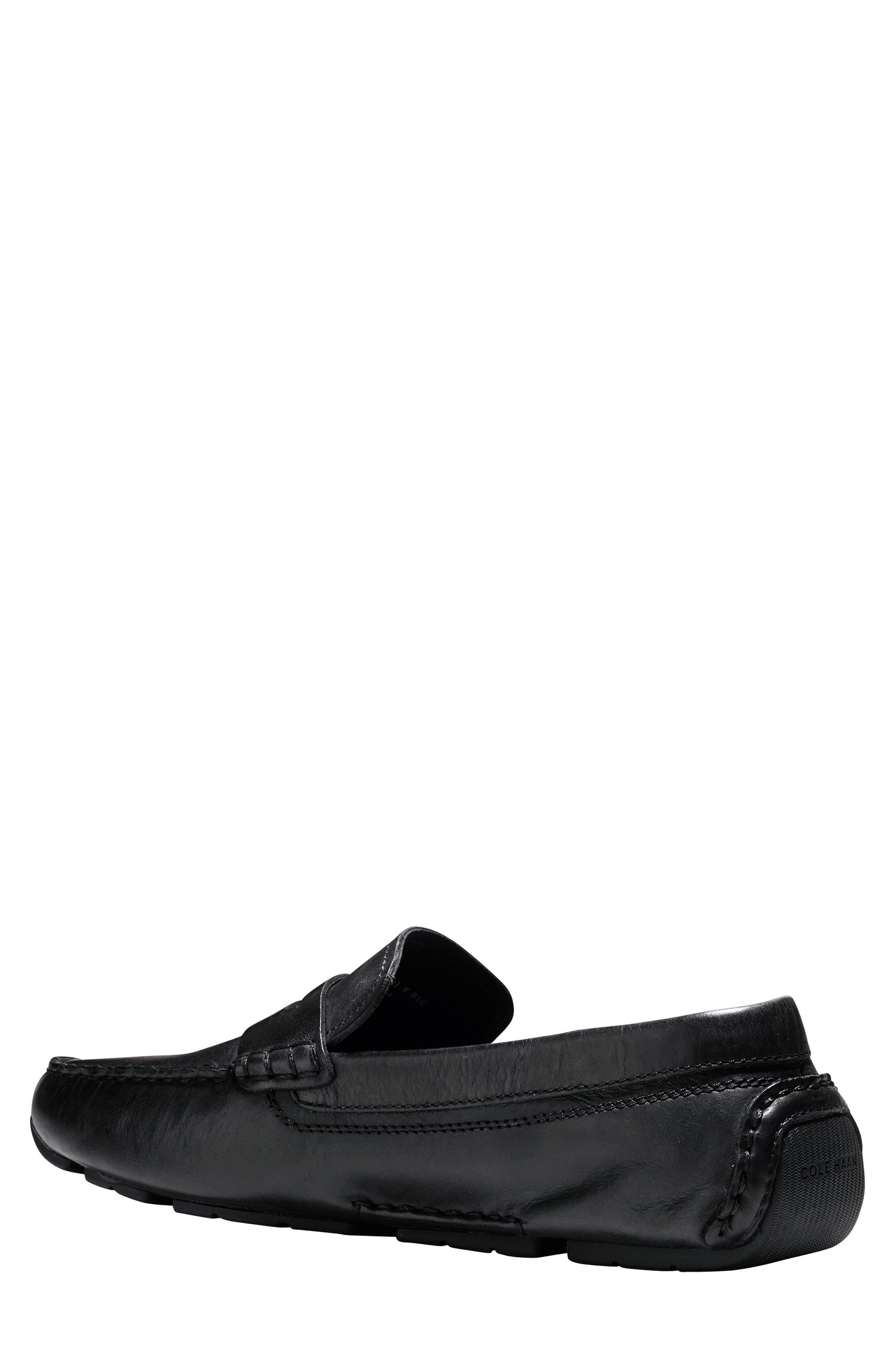 Kelson Driving Shoe,                             Alternate thumbnail 2, color,                             Black