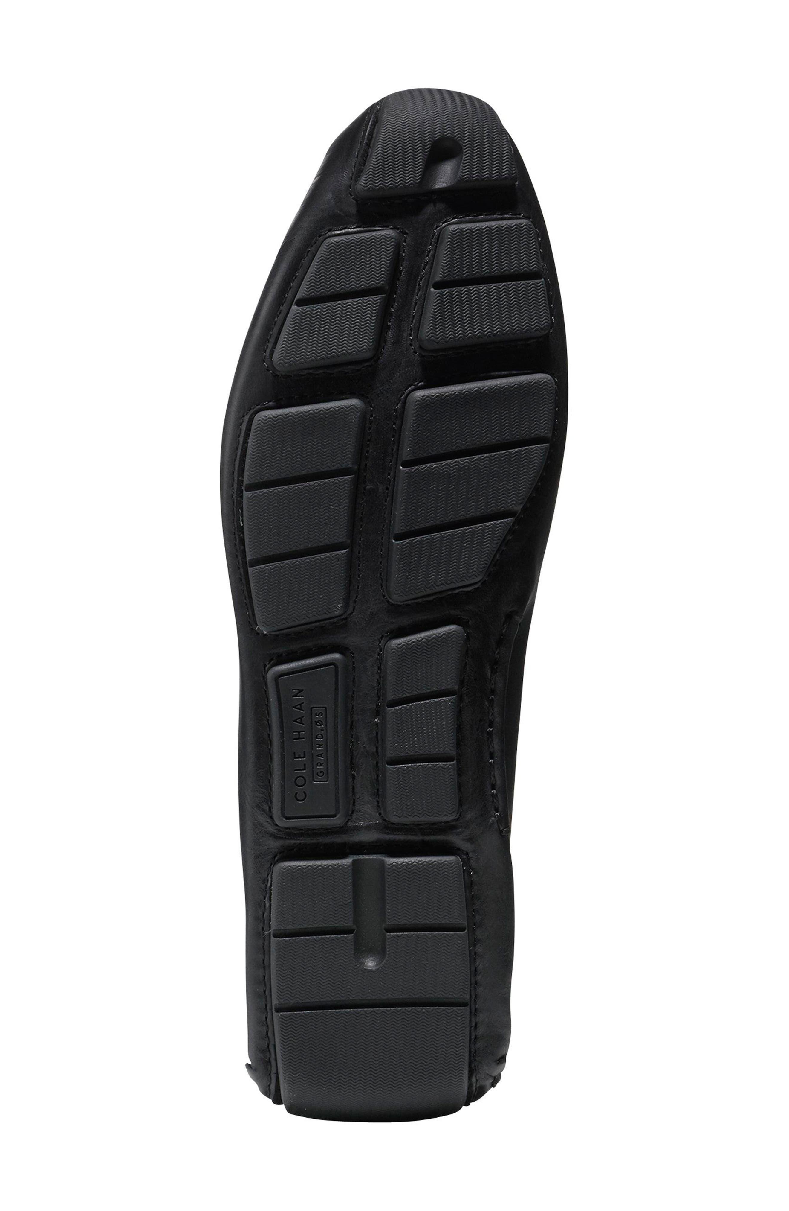 Kelson Driving Shoe,                             Alternate thumbnail 5, color,                             Black