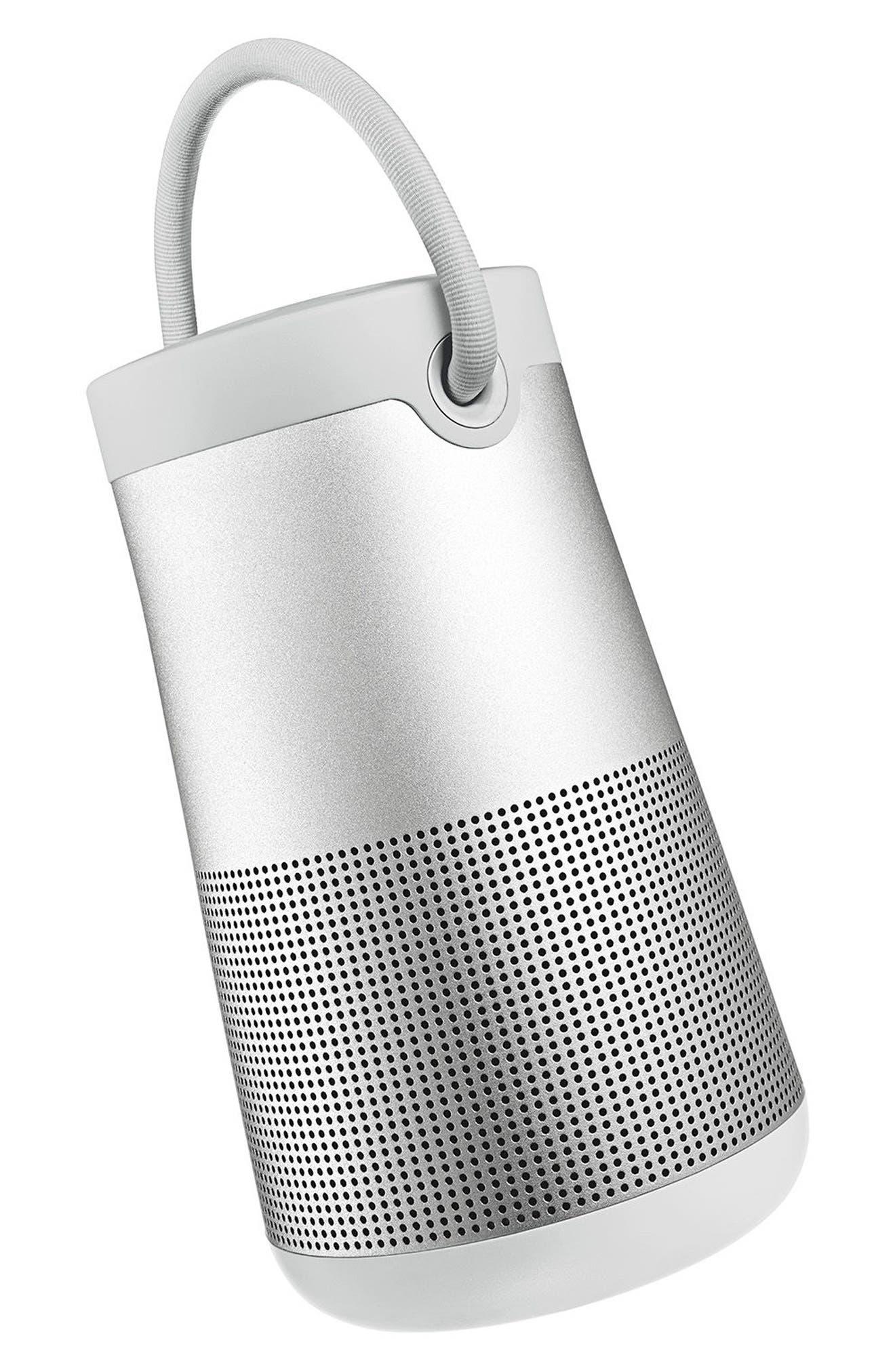 SoundLink<sup>®</sup> Revolve+ Bluetooth<sup>®</sup> Speaker,                             Alternate thumbnail 7, color,                             Silver